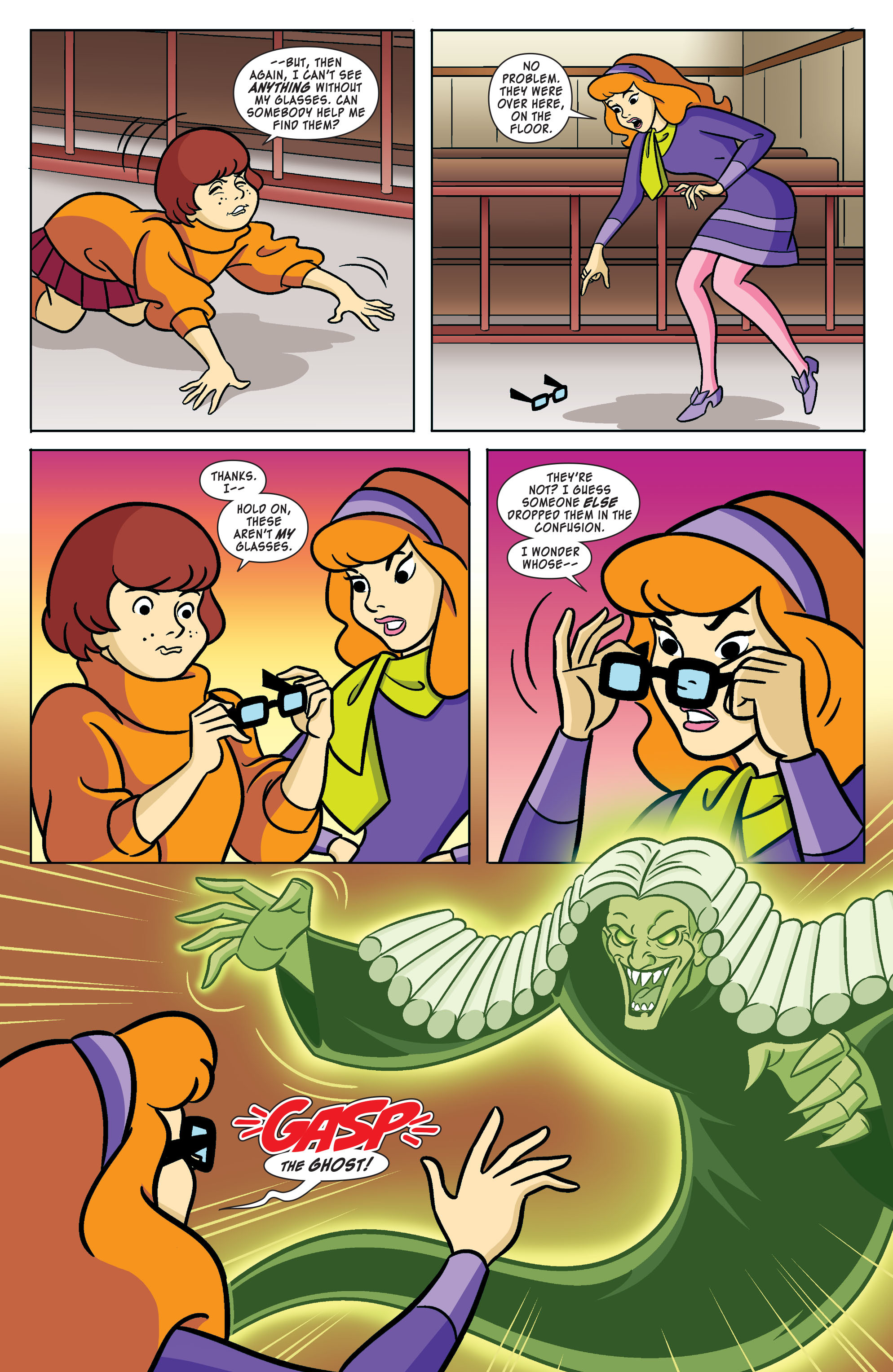 Read online Scooby-Doo: Where Are You? comic -  Issue #61 - 9