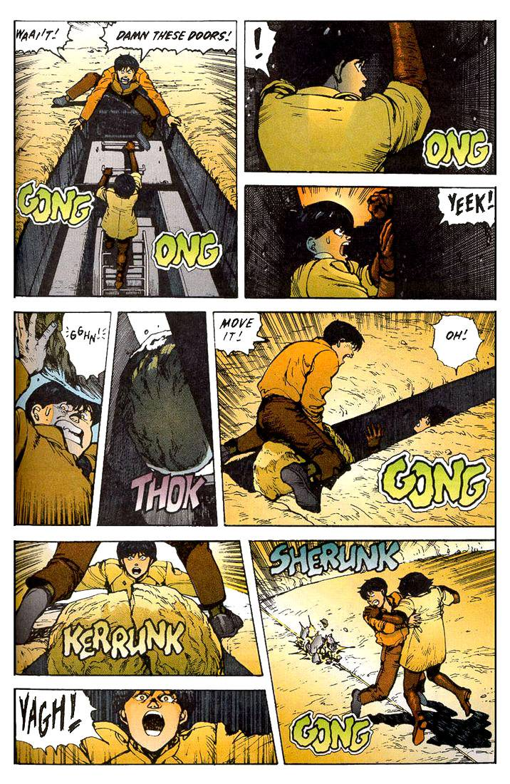 Read online Akira comic -  Issue #11 - 46