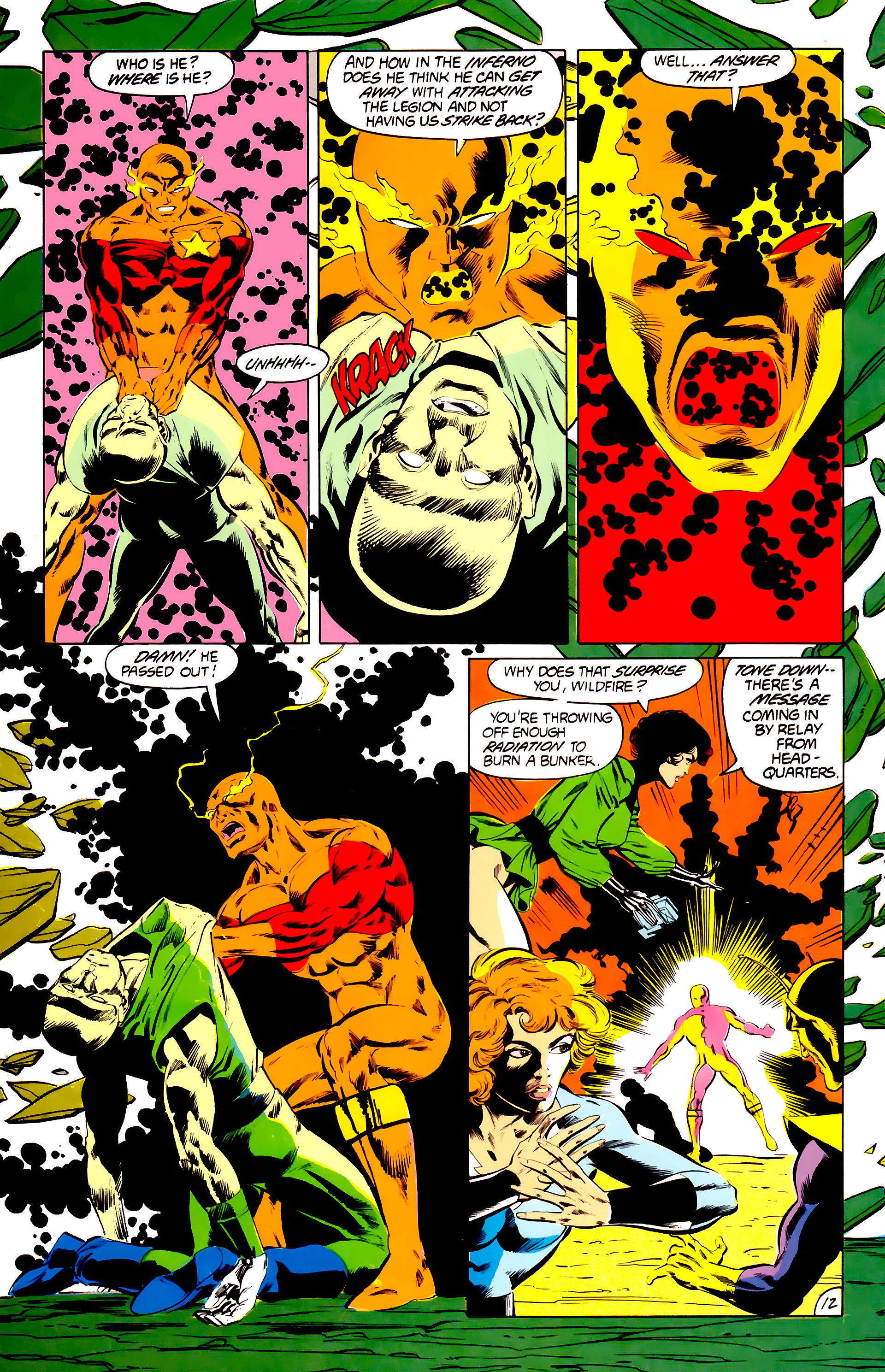Legion of Super-Heroes (1984) 41 Page 12
