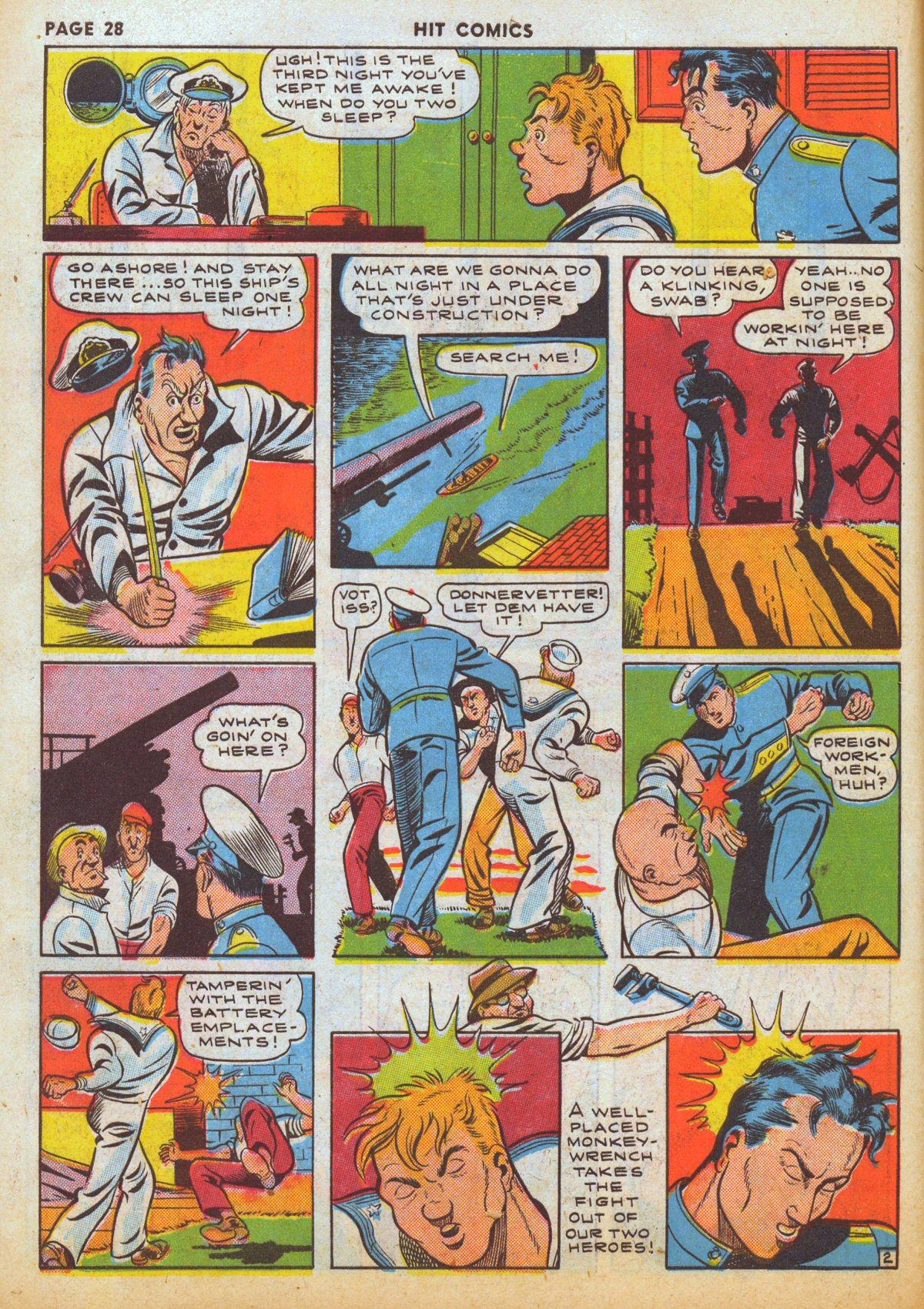 Read online Hit Comics comic -  Issue #12 - 30