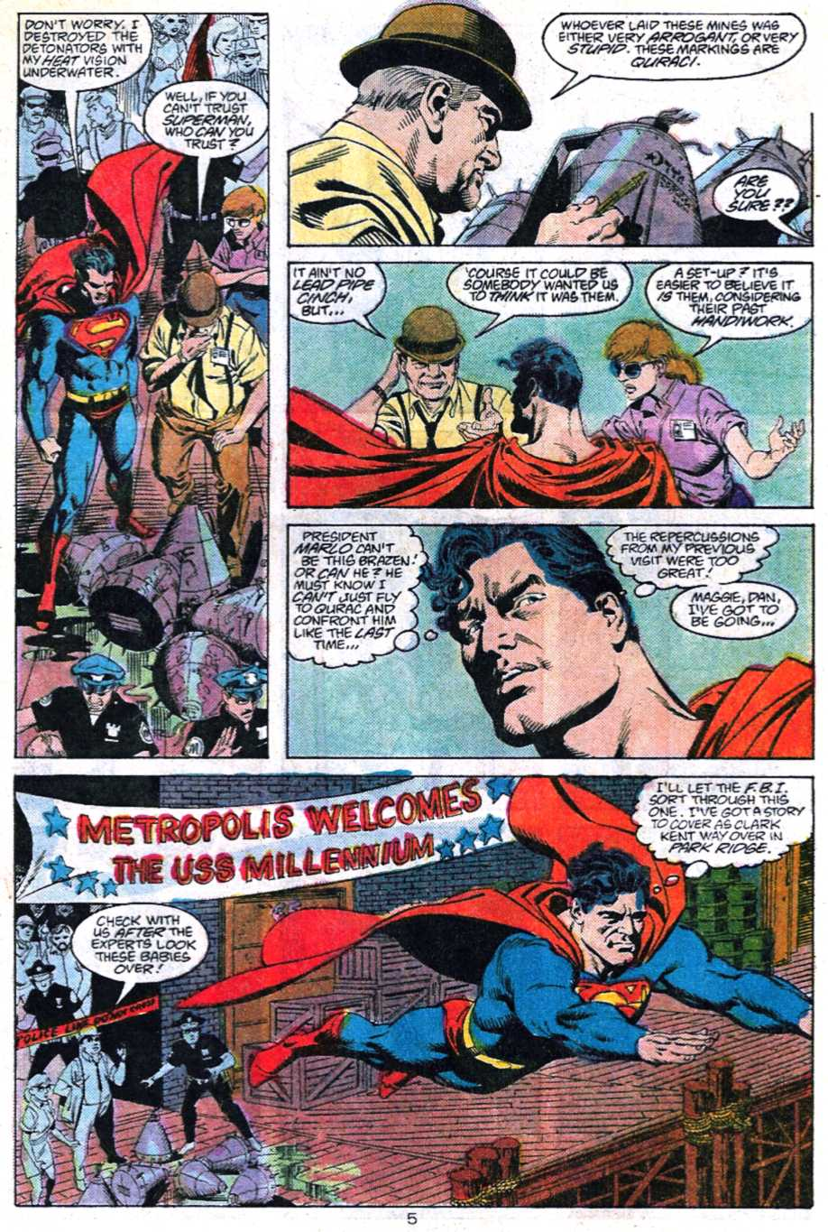 Read online Adventures of Superman (1987) comic -  Issue #447 - 5