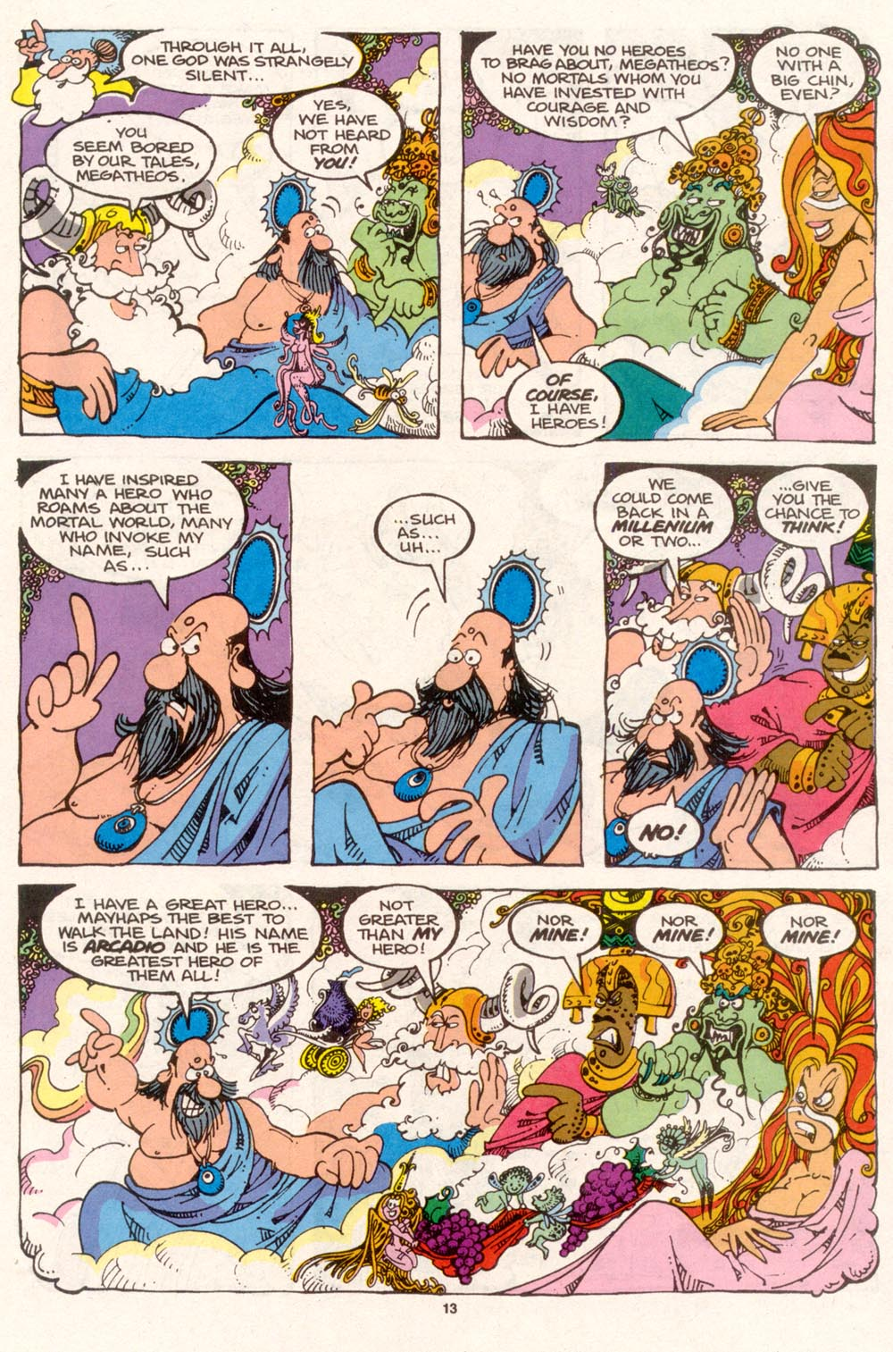 Read online Sergio Aragonés Groo the Wanderer comic -  Issue #96 - 14