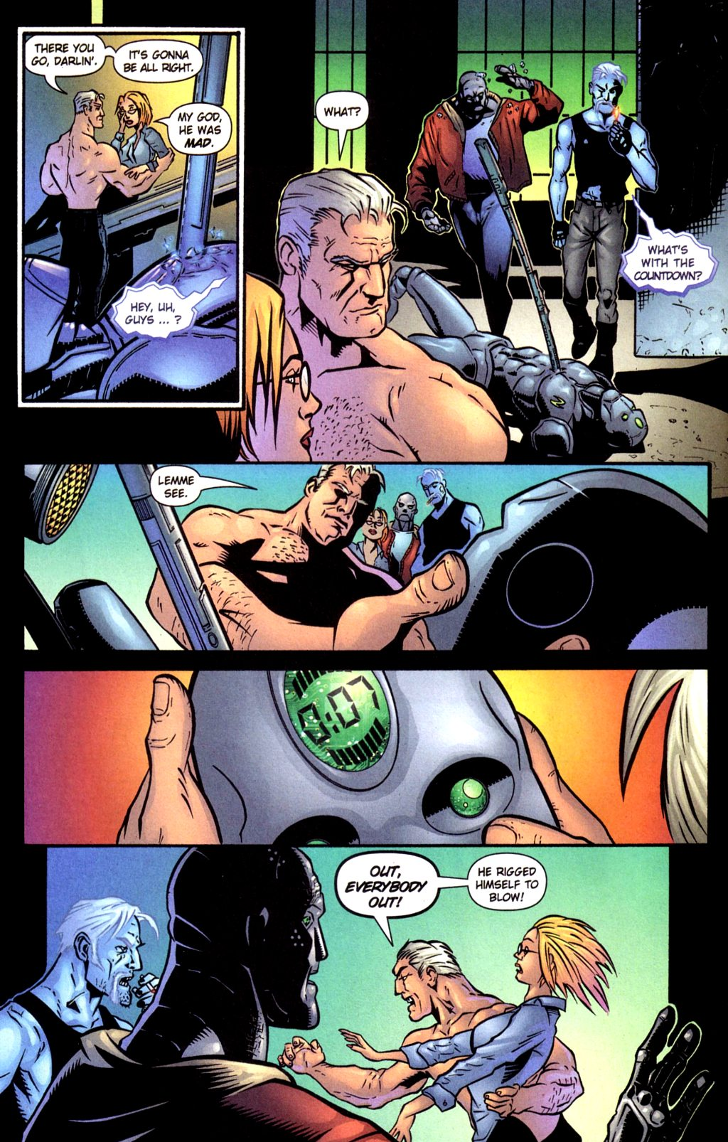 Read online Noble Causes (2002) comic -  Issue #4 - 16