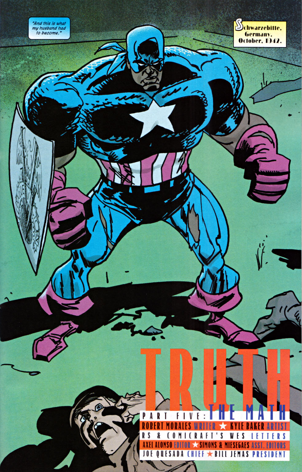 Read online Truth: Red, White & Black comic -  Issue #5 - 4