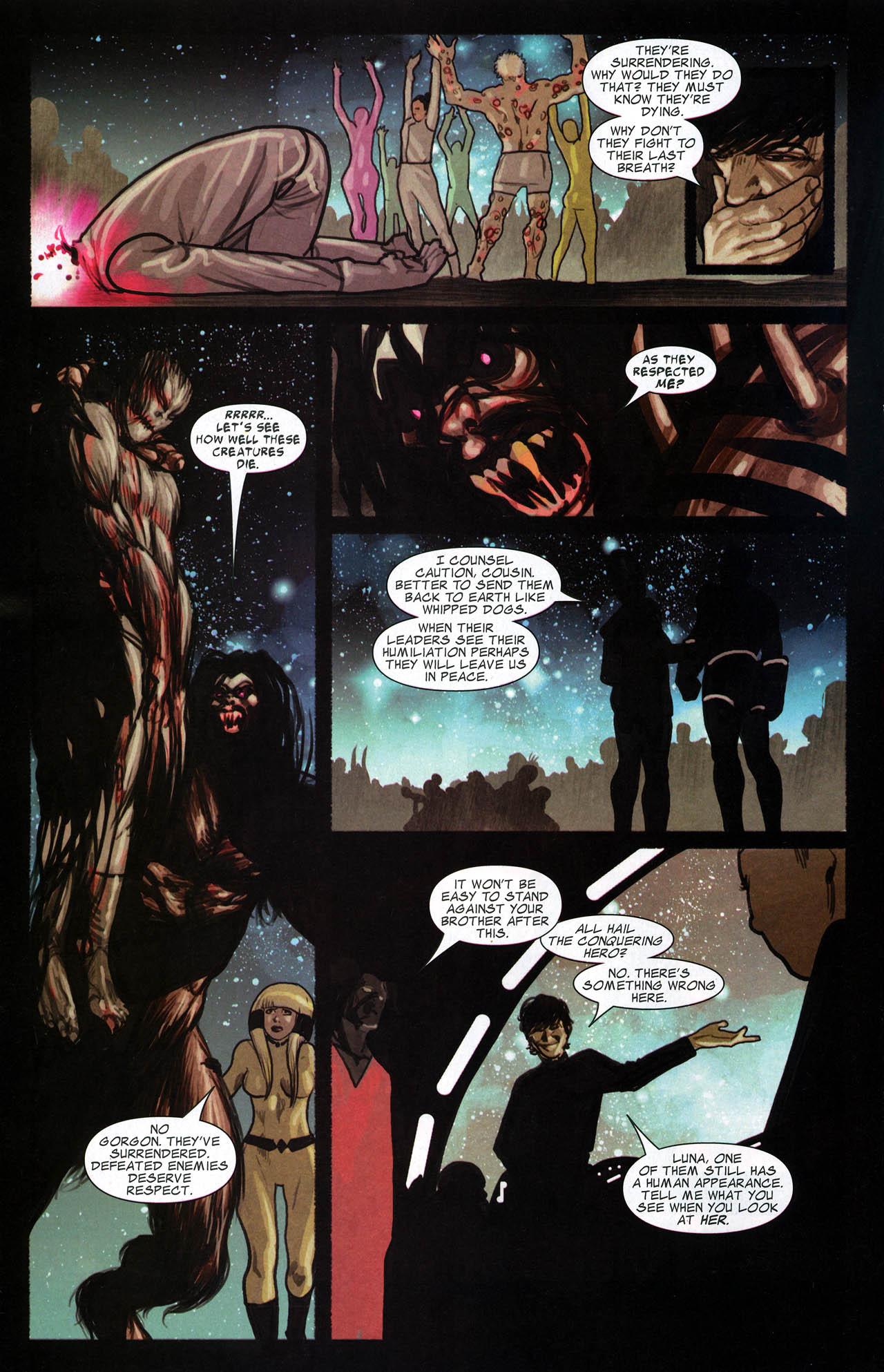 Read online Silent War comic -  Issue #6 - 14