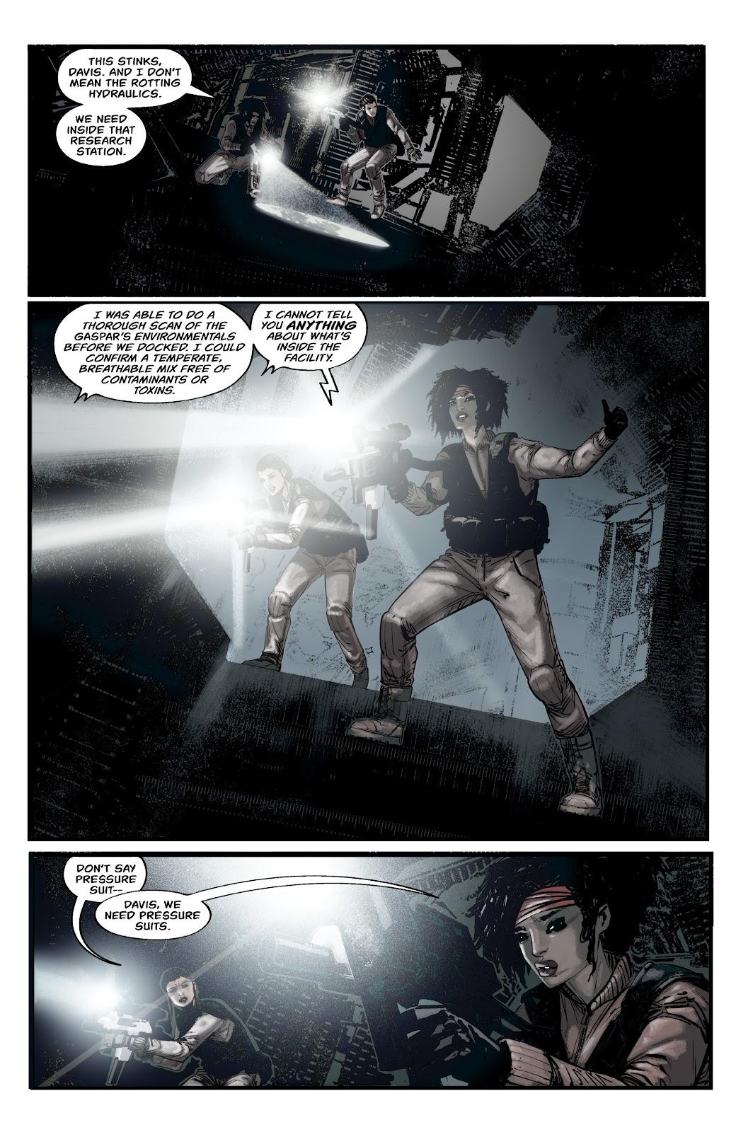 Read online Aliens: Resistance comic -  Issue #2 - 8