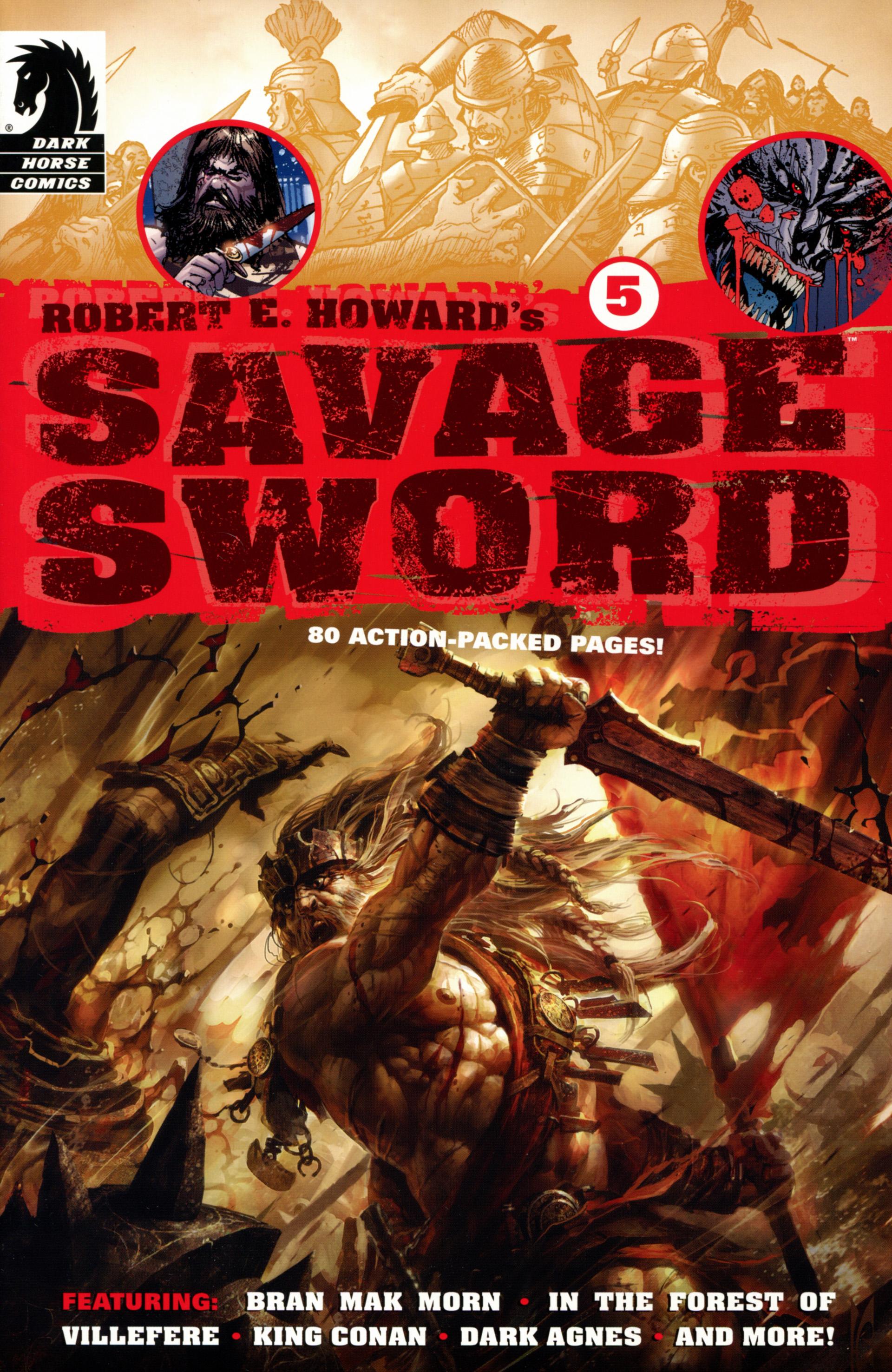Robert E. Howards Savage Sword 5 Page 1