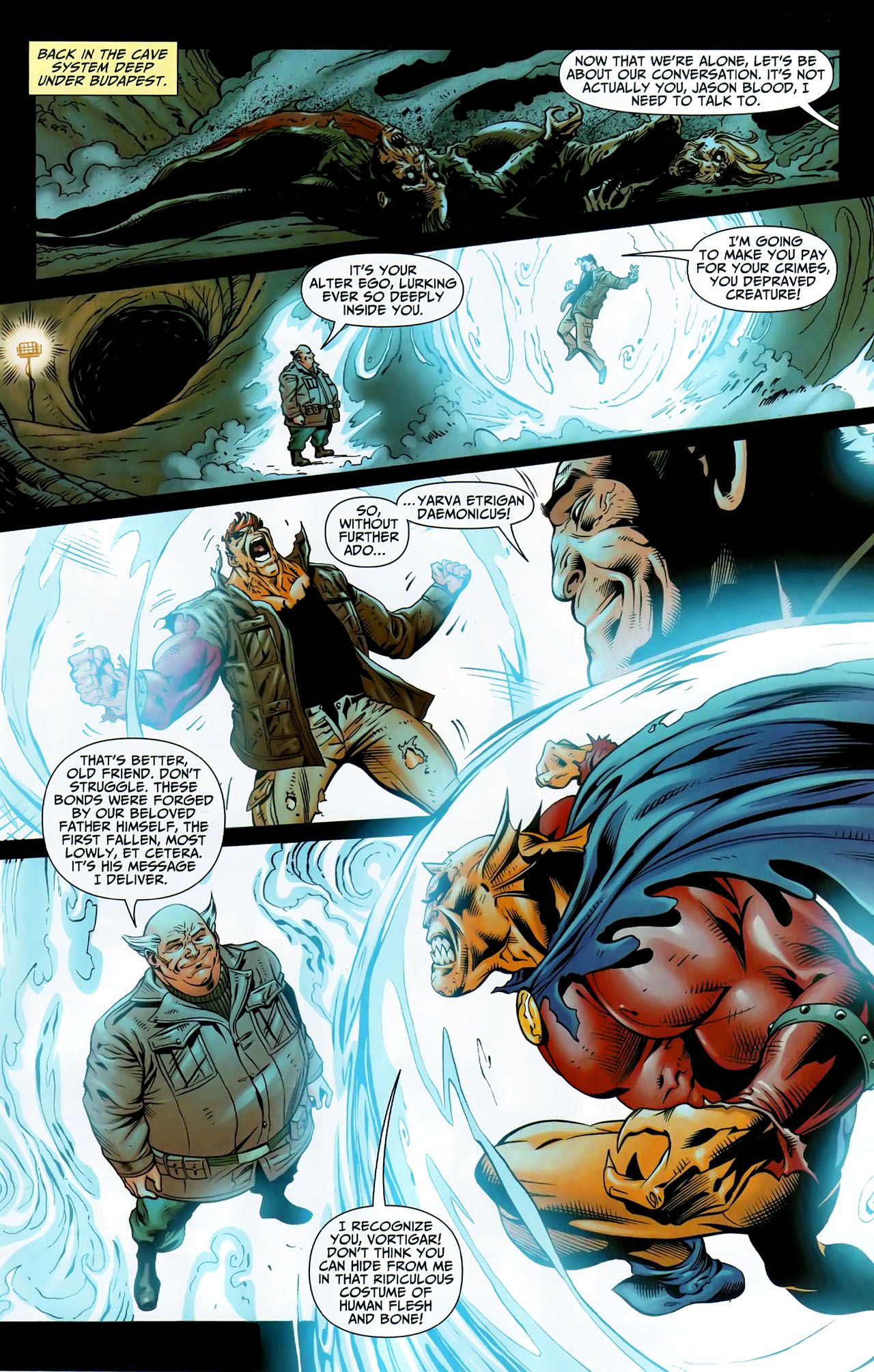 Read online Shadowpact comic -  Issue #9 - 7