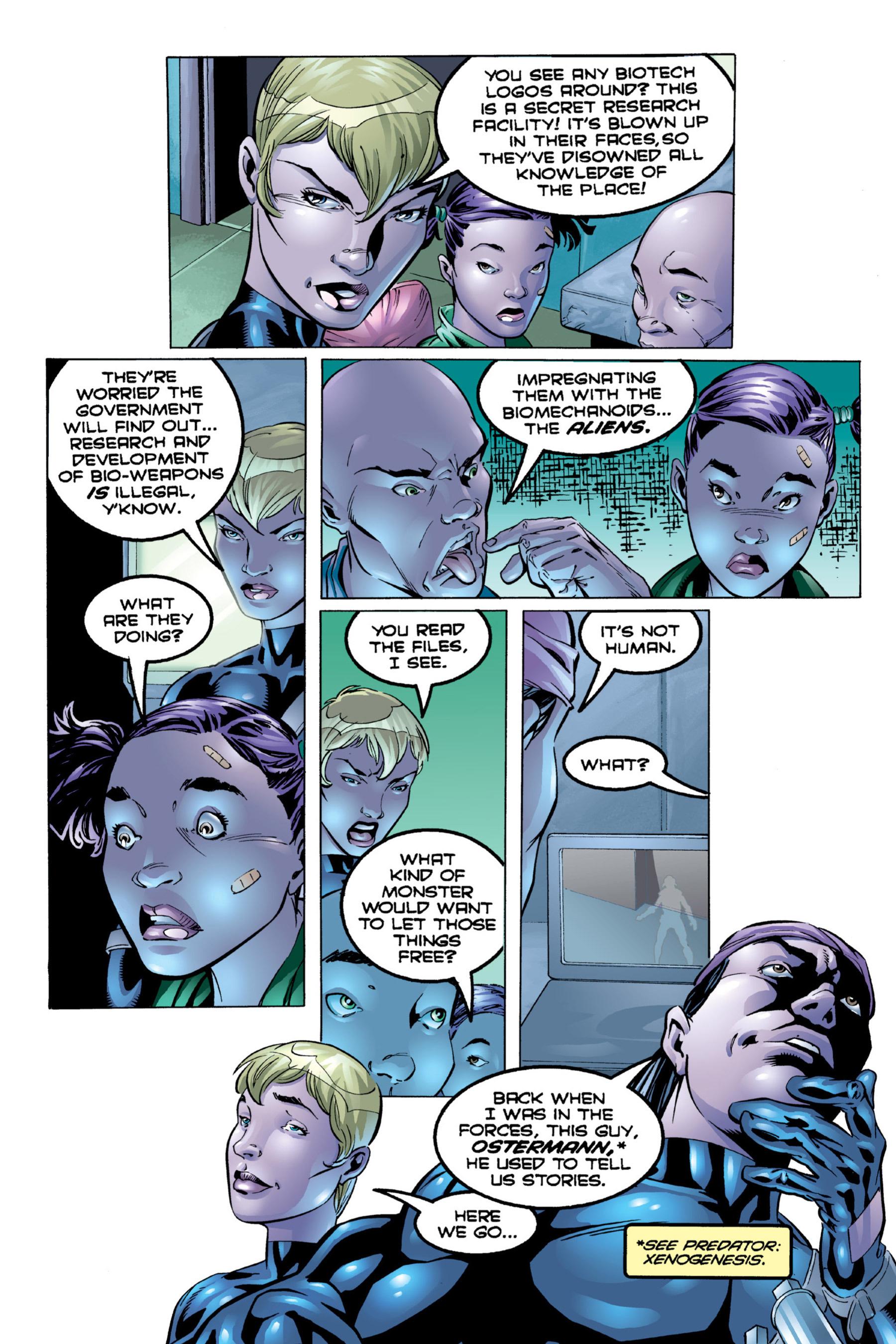 Read online Aliens vs. Predator Omnibus comic -  Issue # _TPB 2 Part 4 - 87