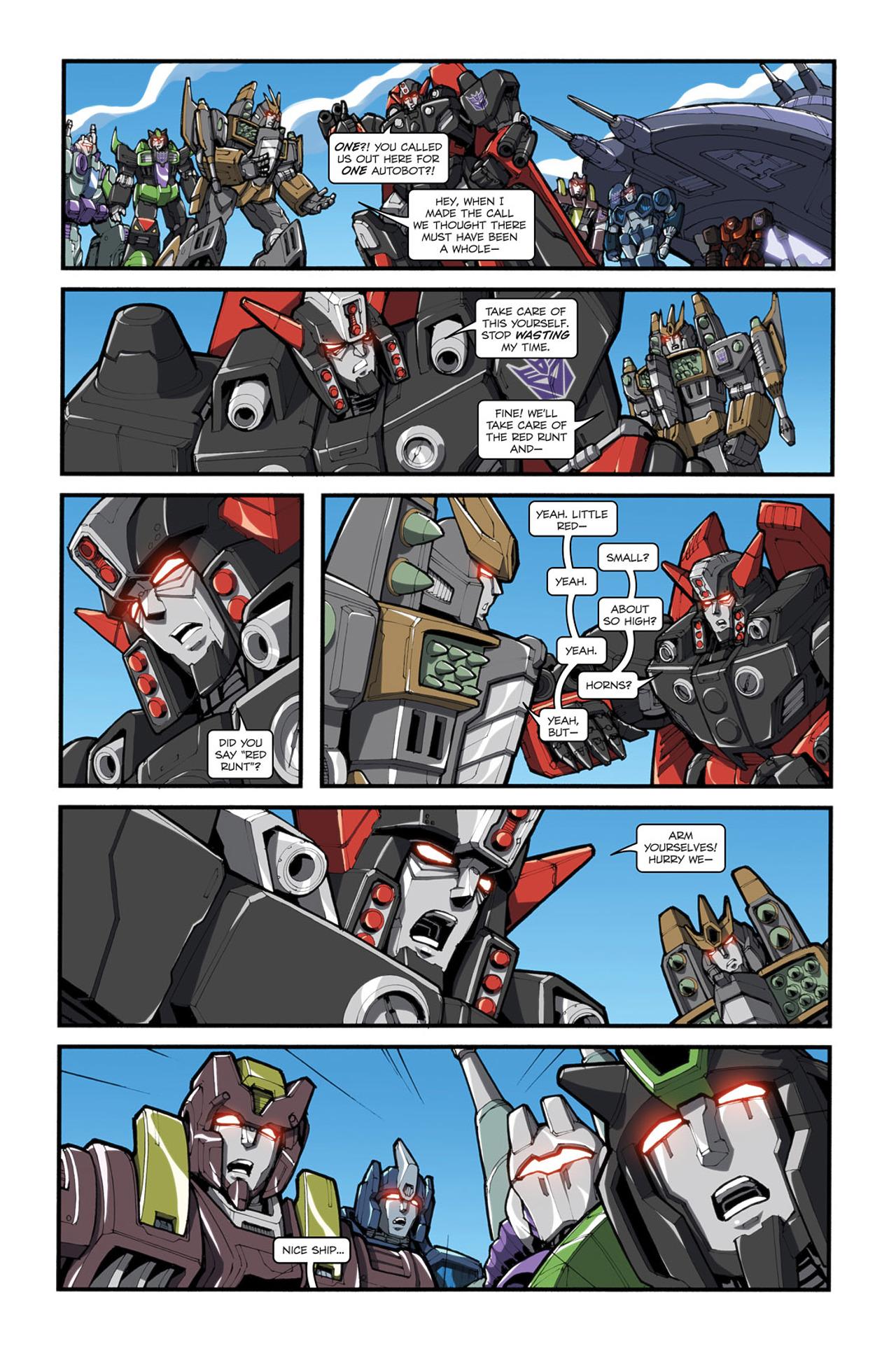 Read online Transformers Spotlight: Cliffjumper comic -  Issue # Full - 24