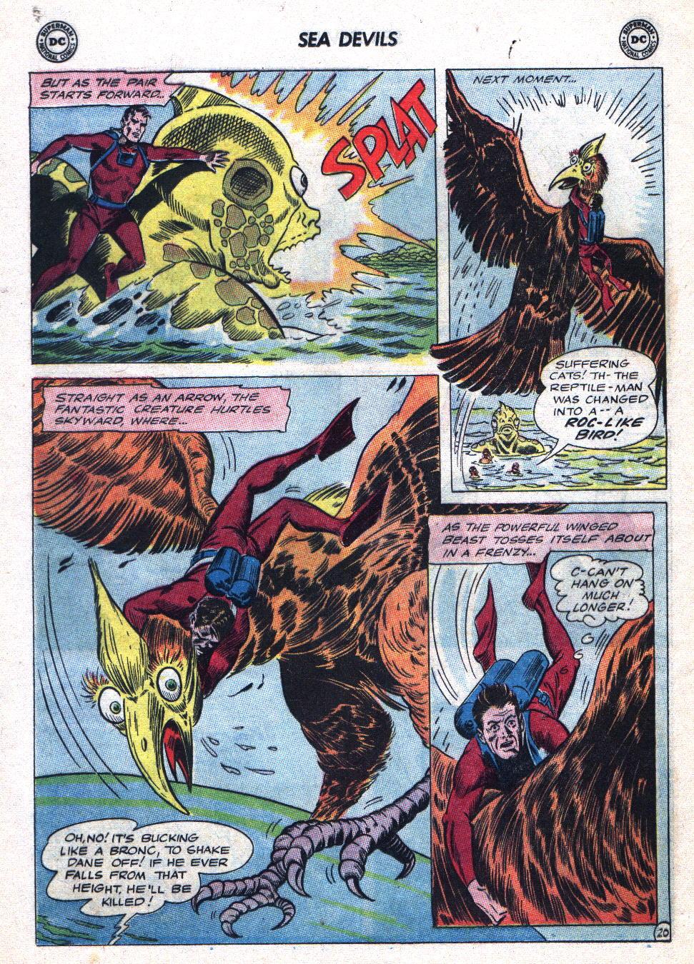 Read online Sea Devils comic -  Issue #20 - 28