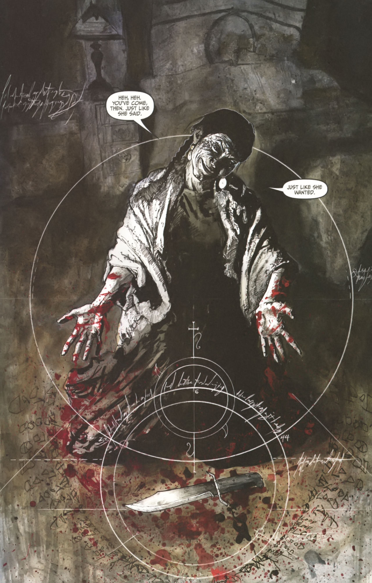 Read online Silent Hill: Past Life comic -  Issue #1 - 21