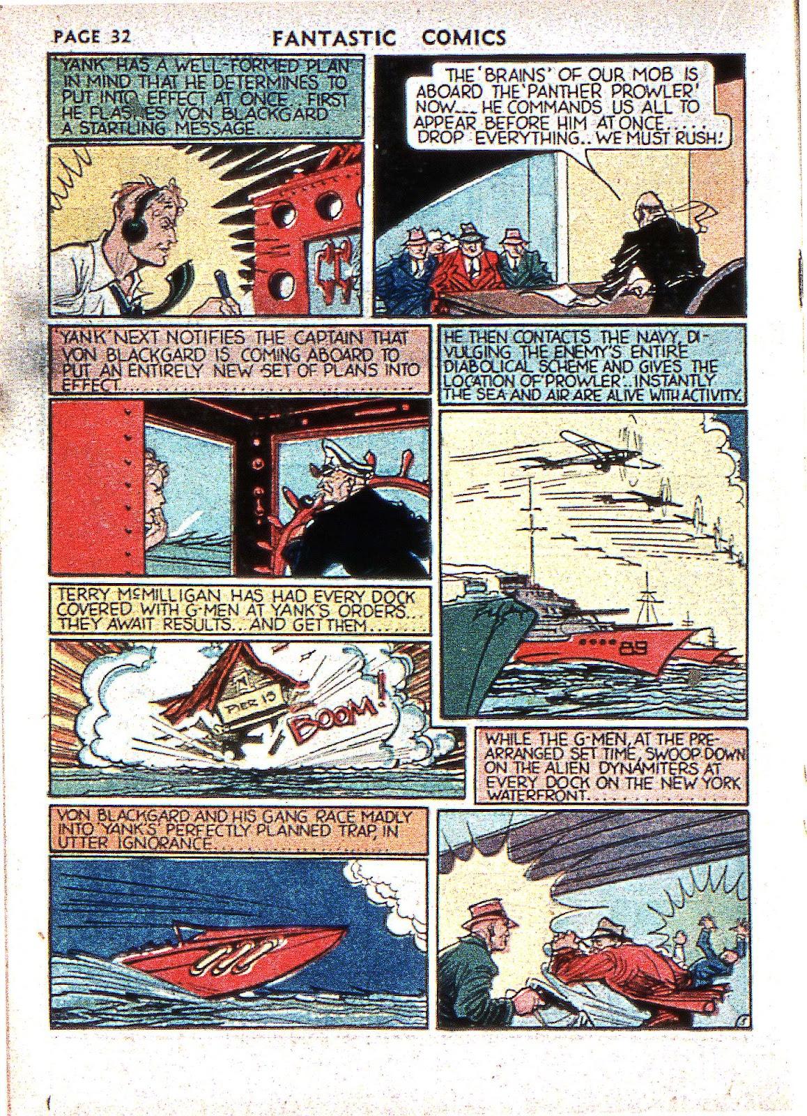 Read online Fantastic Comics comic -  Issue #2 - 34