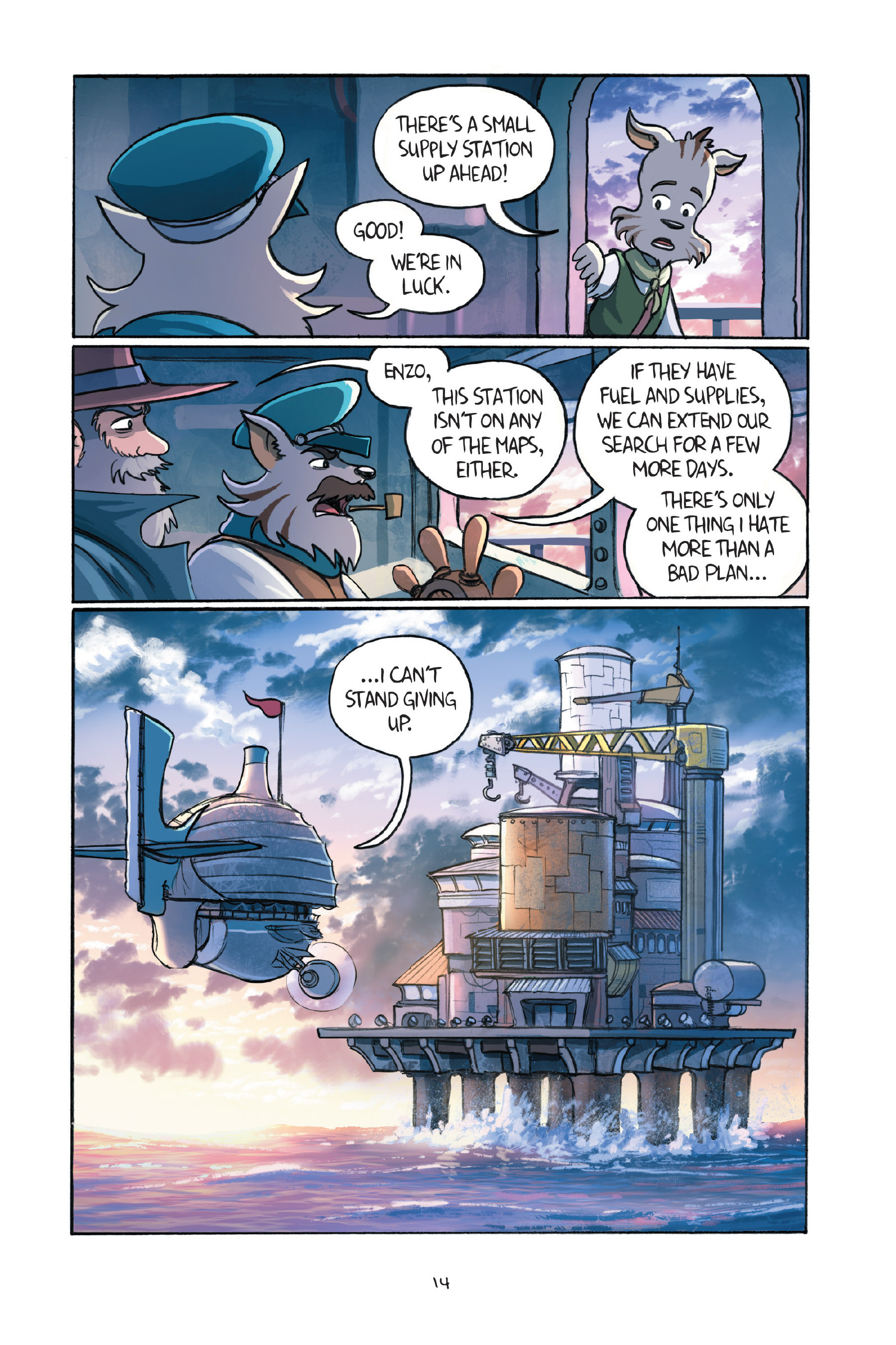 Read online Amulet comic -  Issue #7 - 17