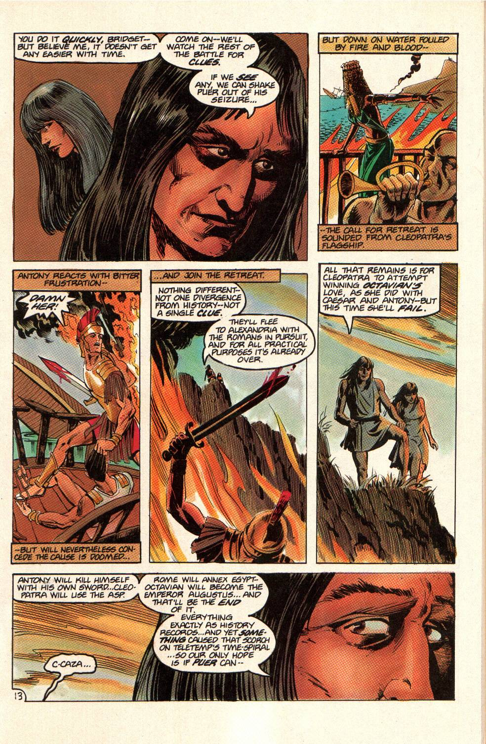 Read online Aztec Ace comic -  Issue #14 - 15