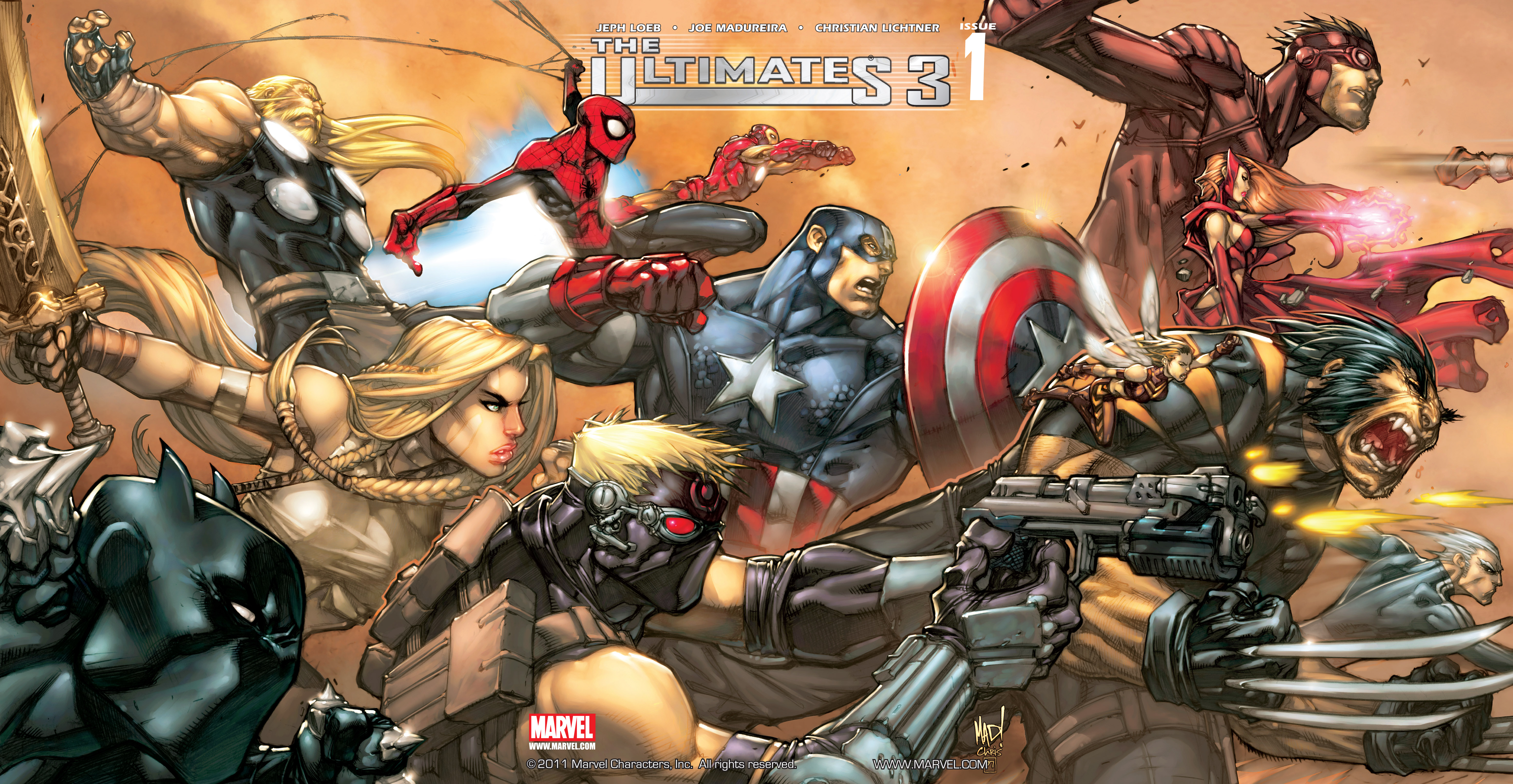 Read online Ultimates 3 comic -  Issue #1 - 2