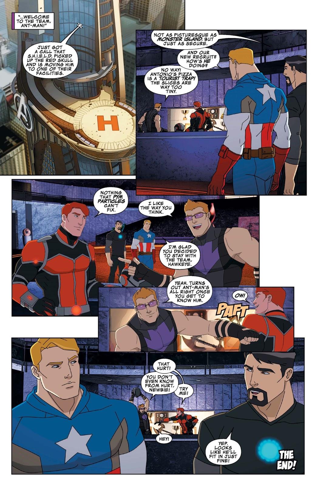 Read online Marvel Universe Avengers Assemble Season 2 comic -  Issue #9 - 29