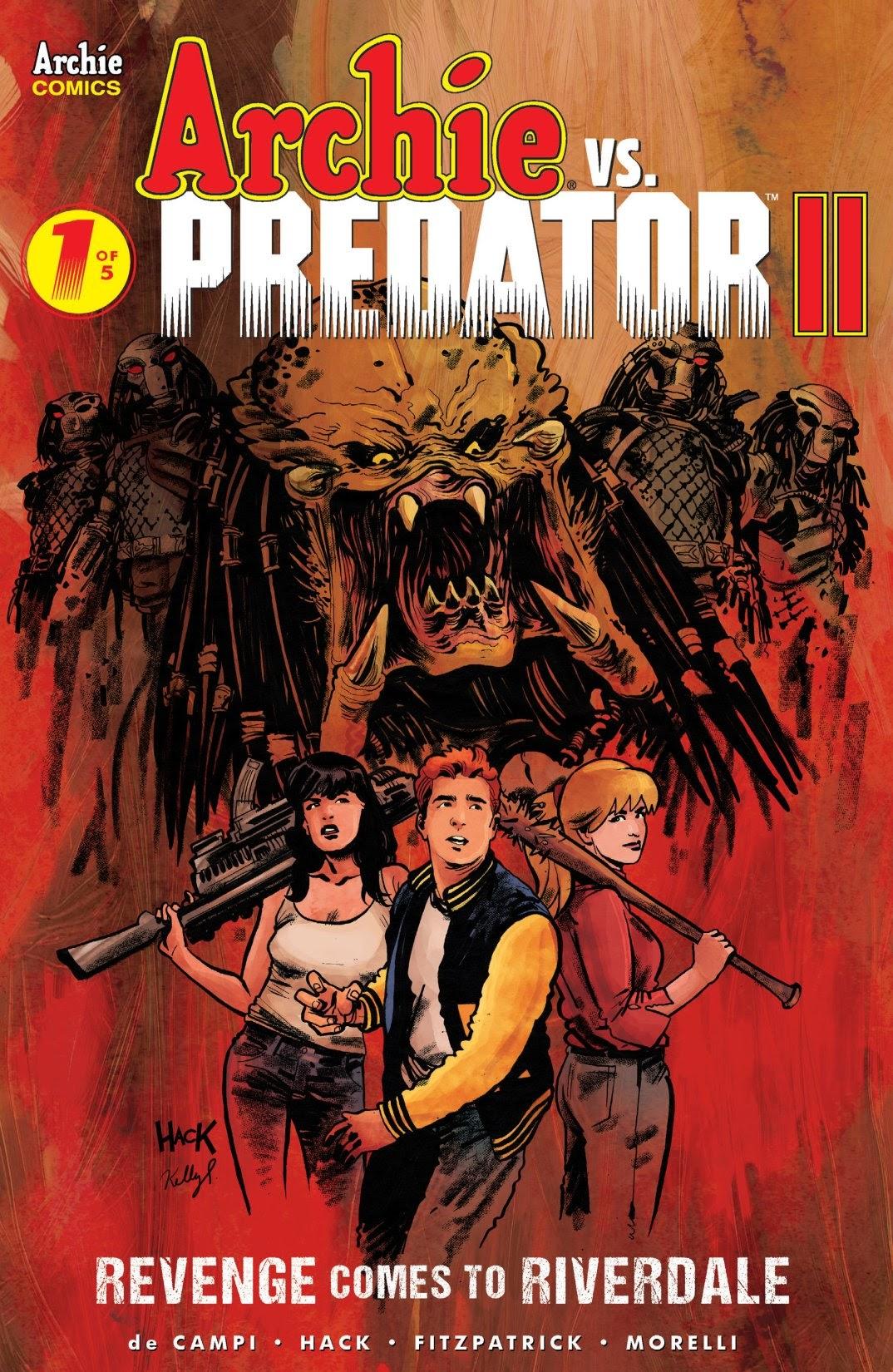 Archie vs. Predator II 1 Page 1