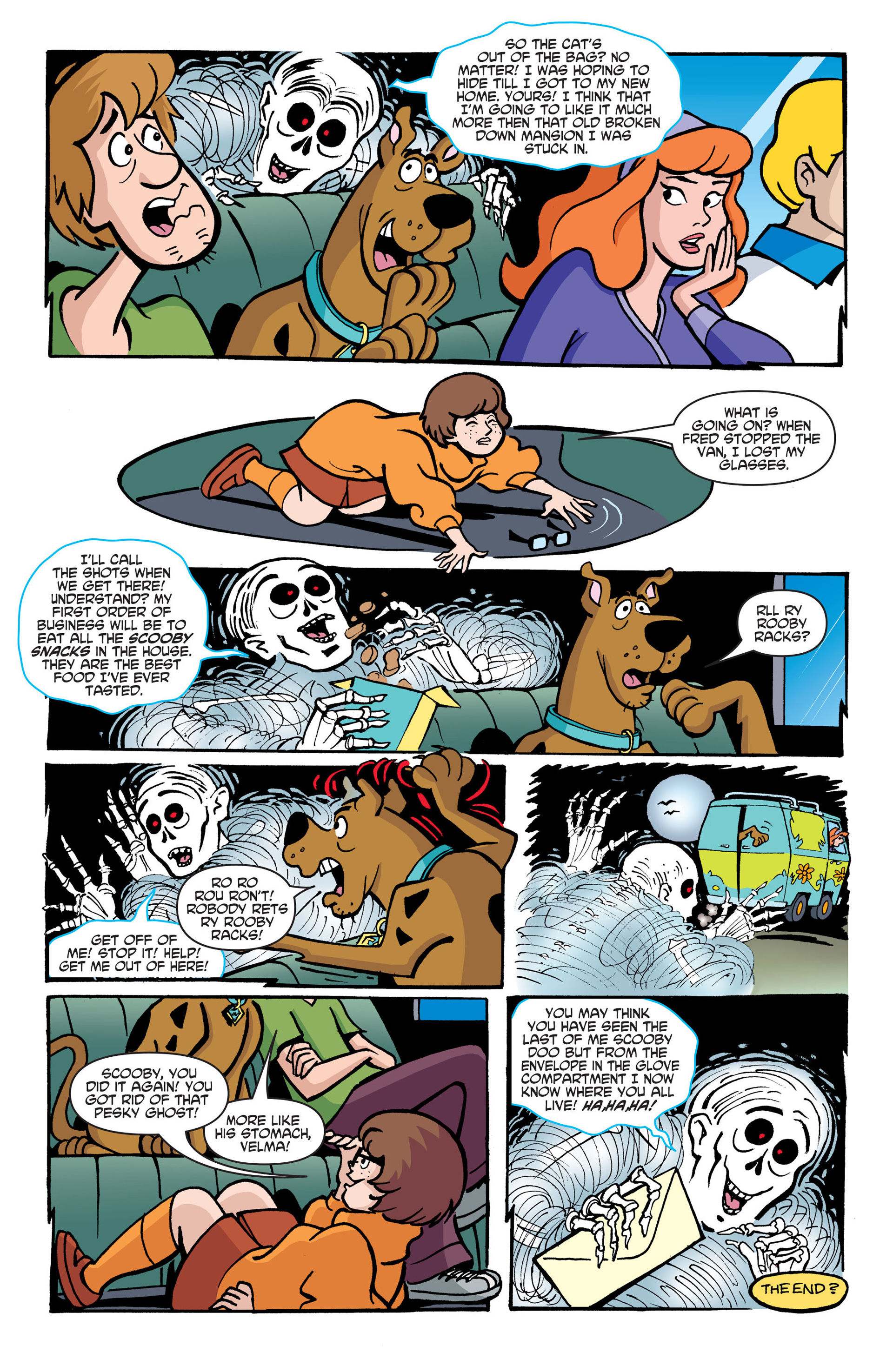 Read online Scooby-Doo: Where Are You? comic -  Issue #45 - 15
