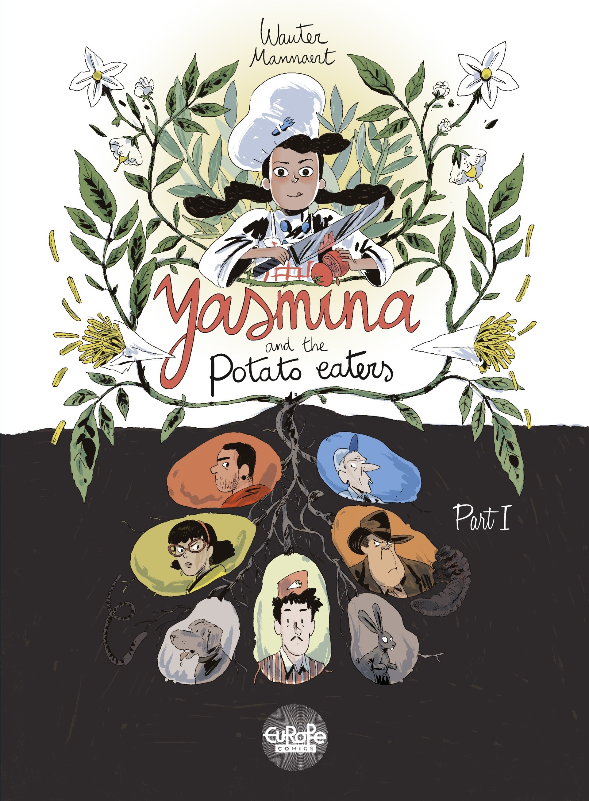 Yasmina and the Potato Eaters issue 1 - Page 1
