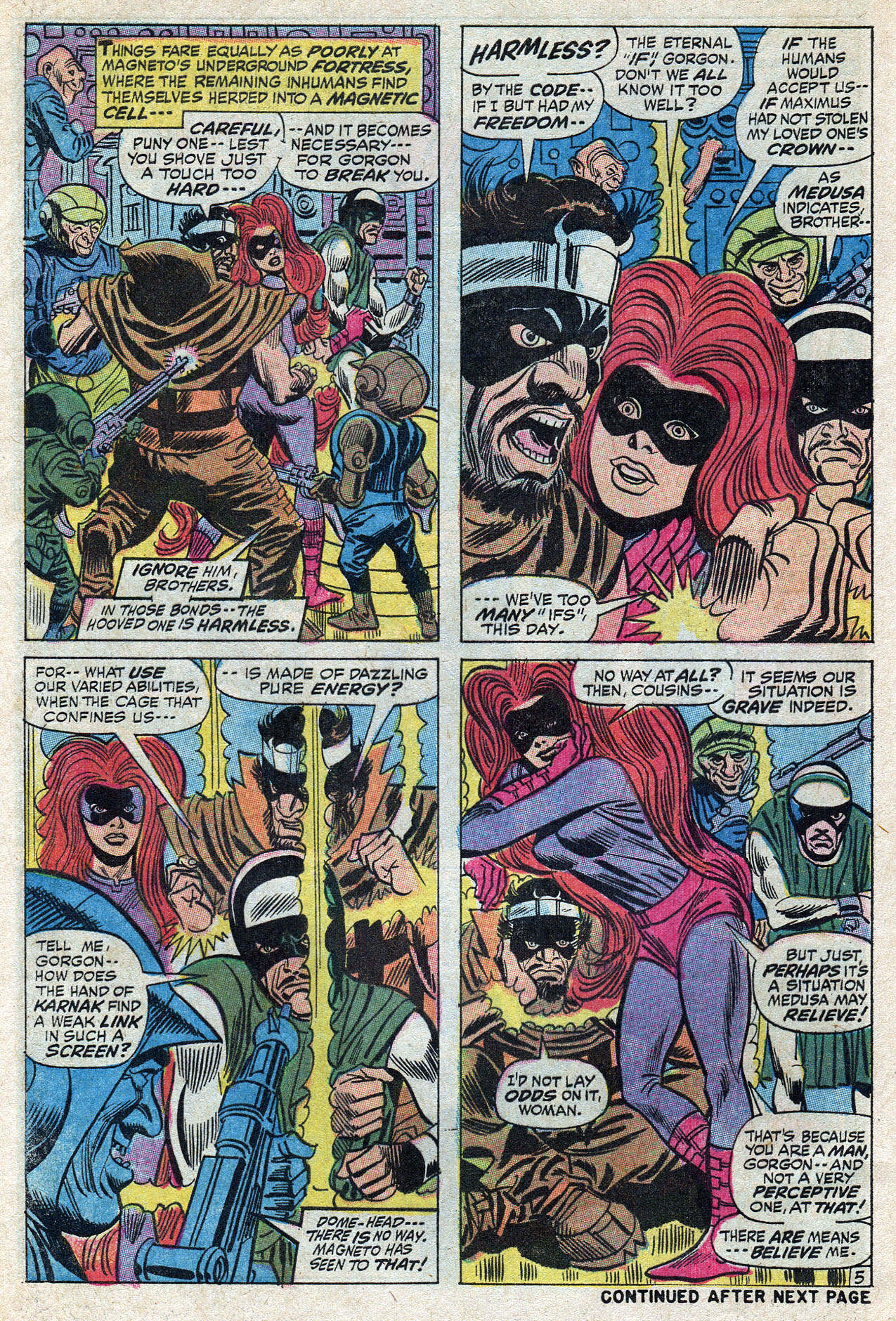 Read online Amazing Adventures (1970) comic -  Issue #10 - 8