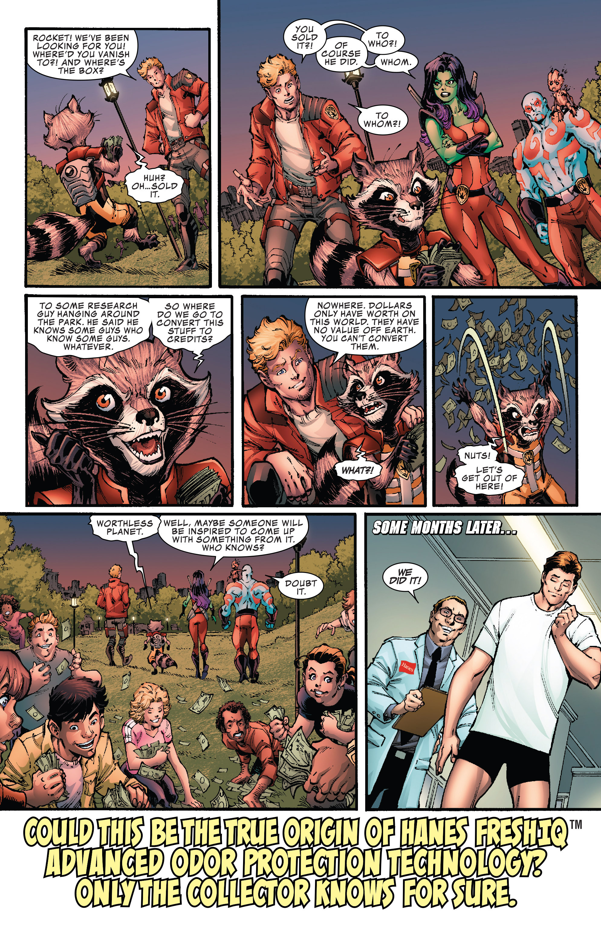 Read online Hi-Tech Heroes Presented By Hanes comic -  Issue # Full - 12