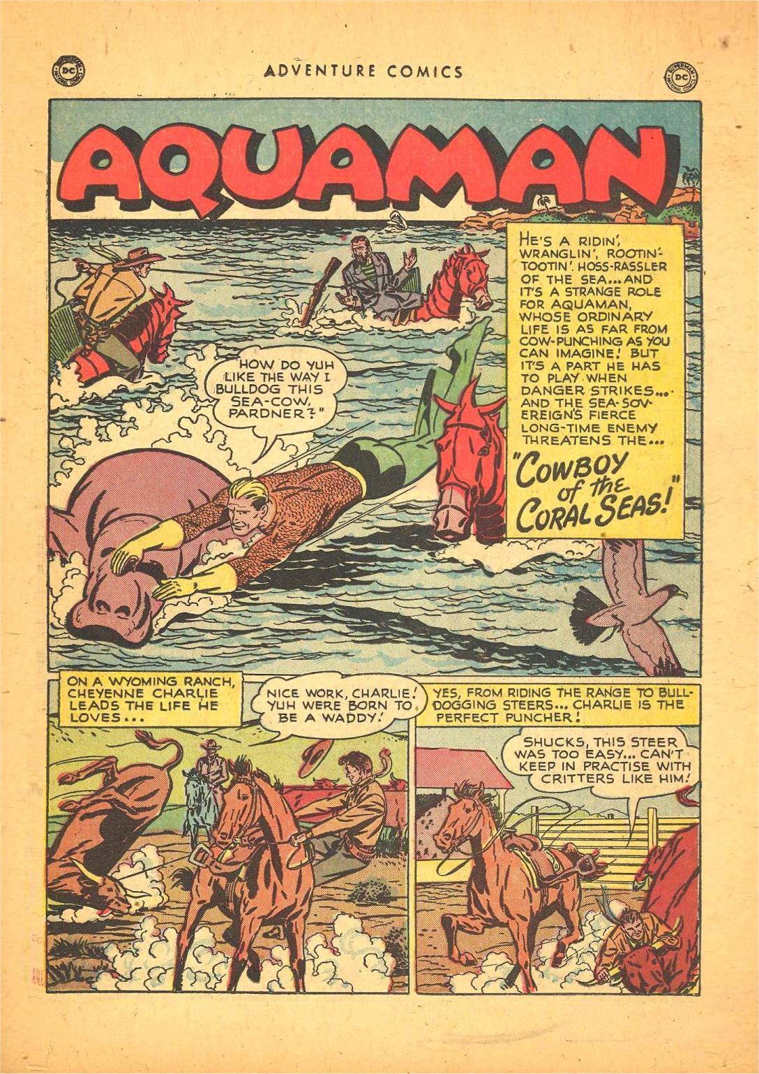 Read online Adventure Comics (1938) comic -  Issue #148 - 15