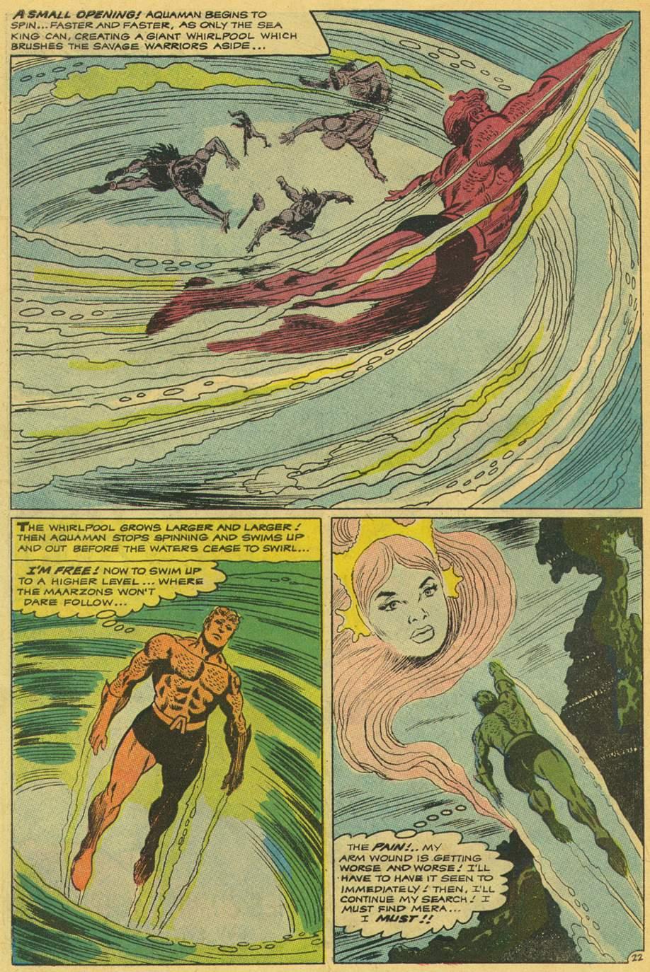 Read online Aquaman (1962) comic -  Issue #42 - 30