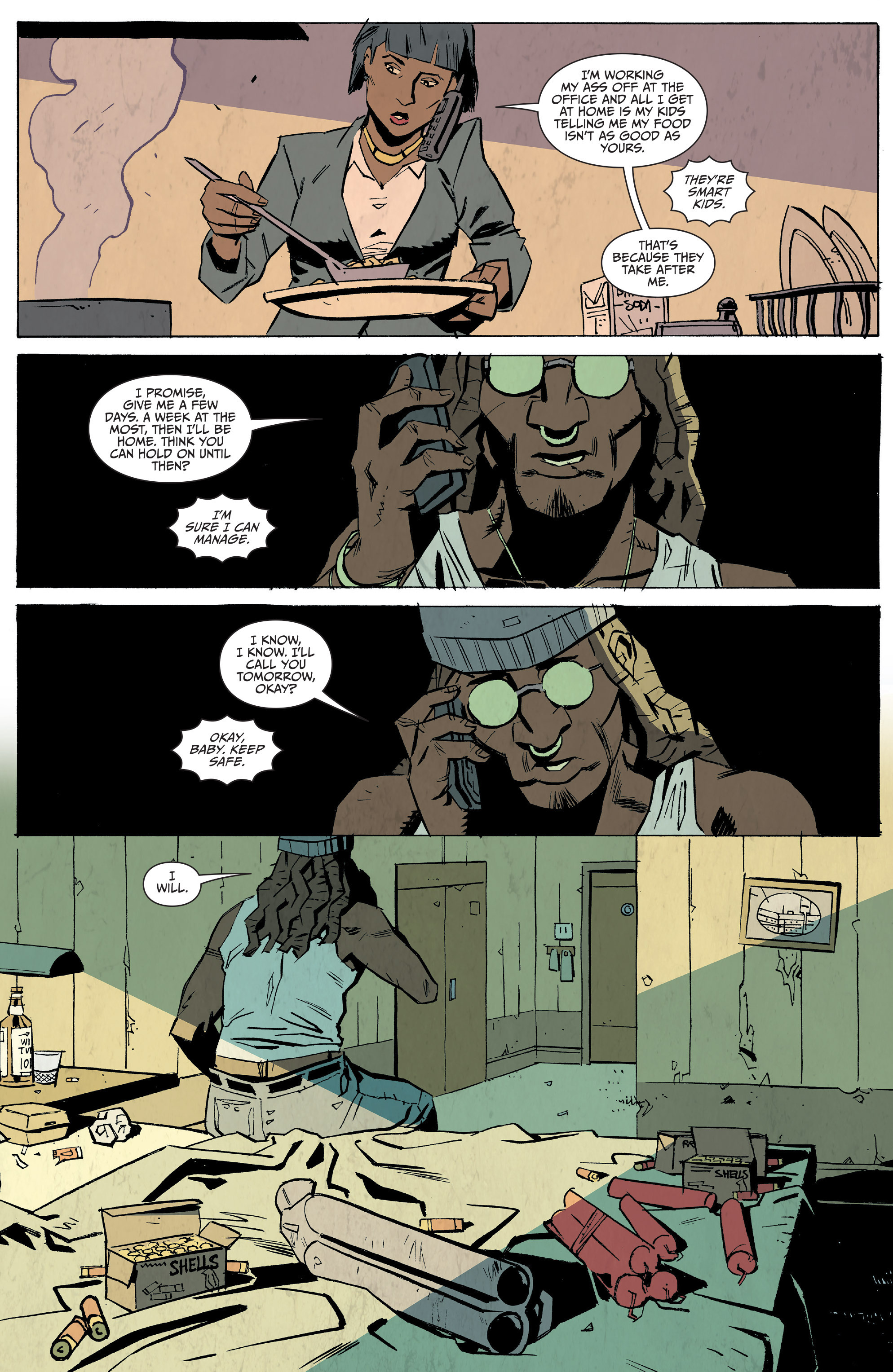 Read online Sons of Anarchy: Redwood Original comic -  Issue #5 - 19