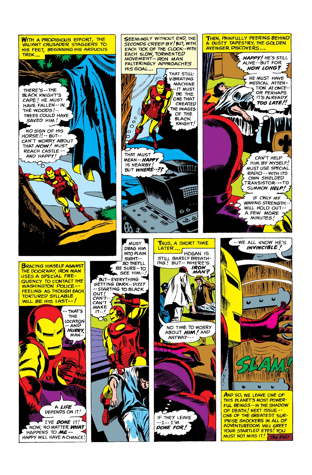 Read online Marvel Masterworks: The Invincible Iron Man comic -  Issue # TPB 3 (Part 2) - 76