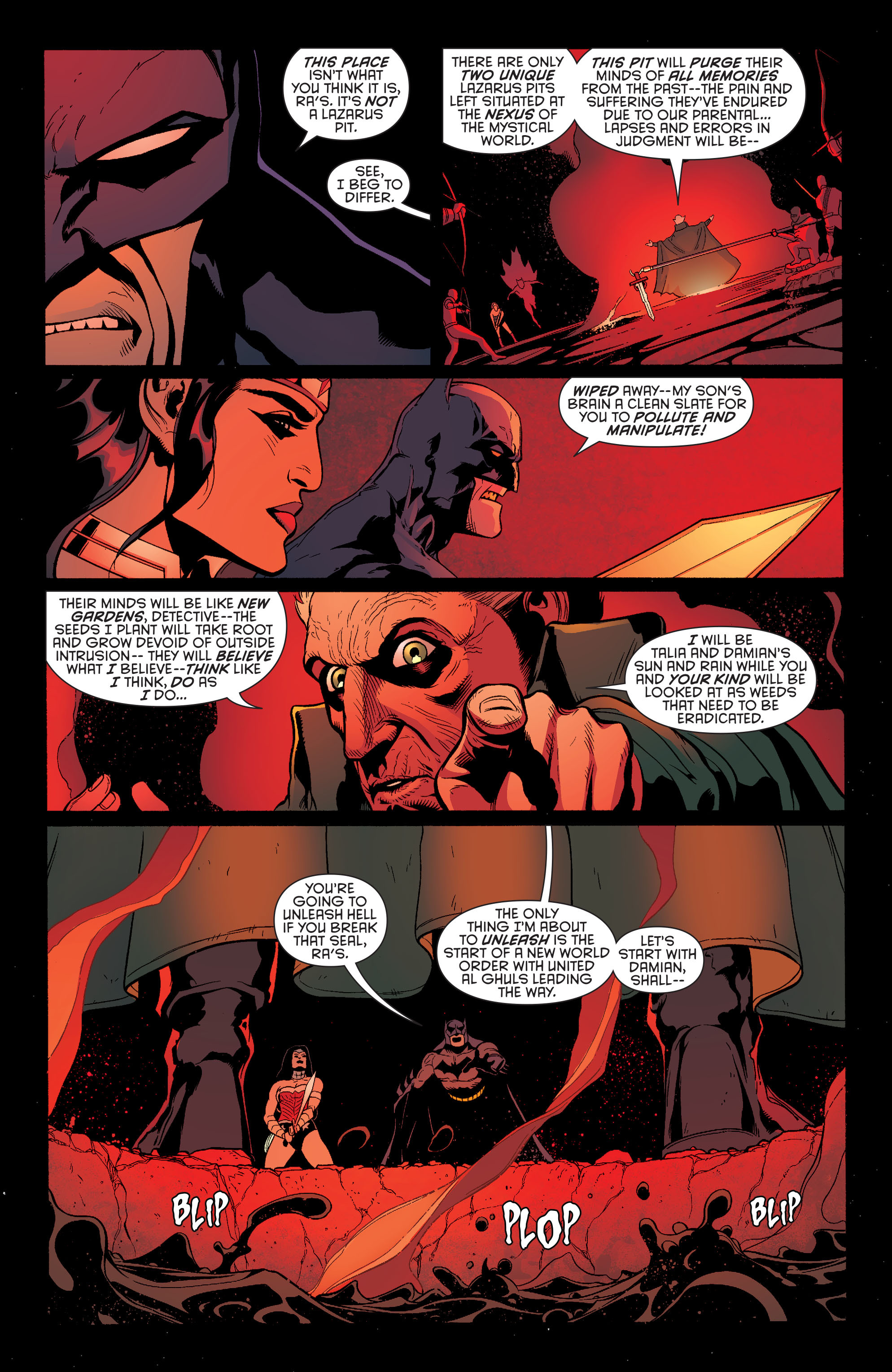 Read online Batman and Robin (2011) comic -  Issue #30 - Batman and Wonder Woman - 13
