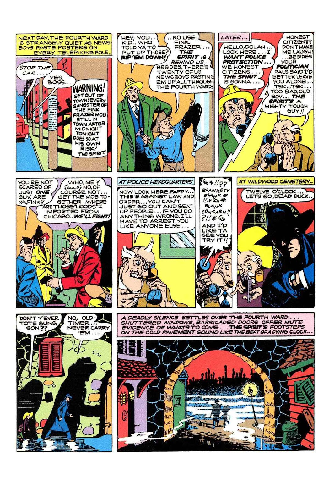Read online Will Eisner's The Spirit Archives comic -  Issue # TPB 2 (Part 1) - 69