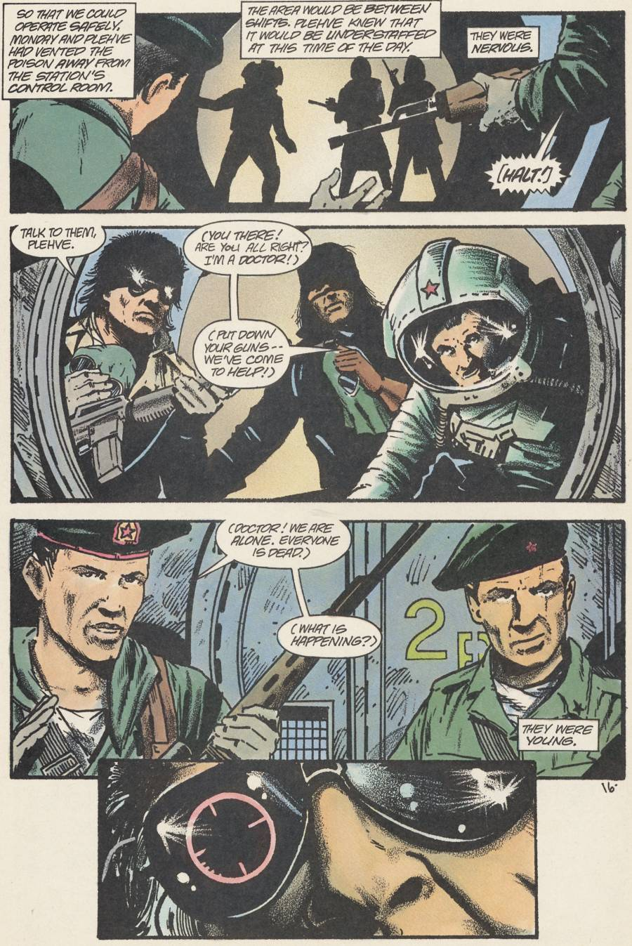 Read online Scout comic -  Issue #24 - 18