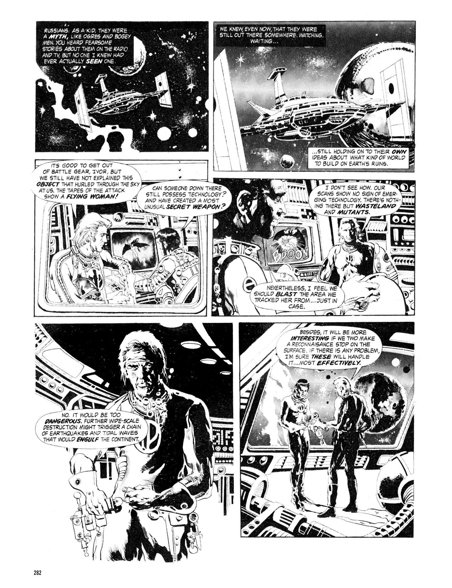 Read online Eerie Archives comic -  Issue # TPB 16 - 283