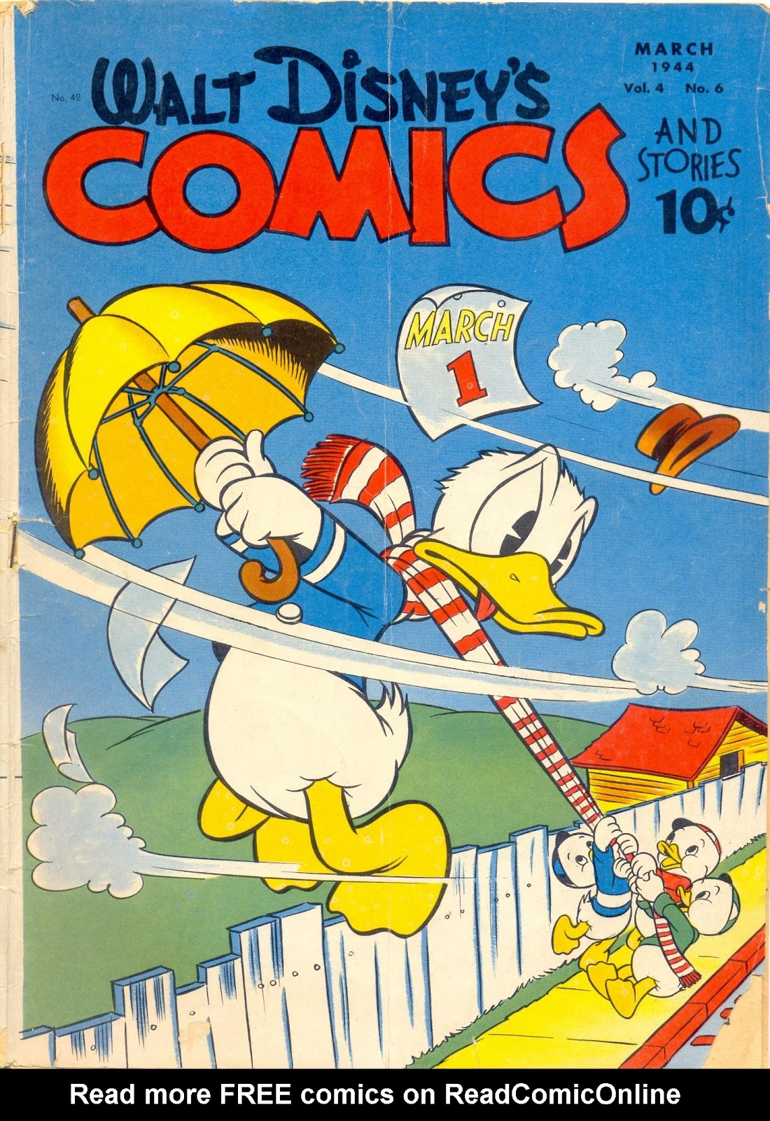 Walt Disney's Comics and Stories issue 42 - Page 1