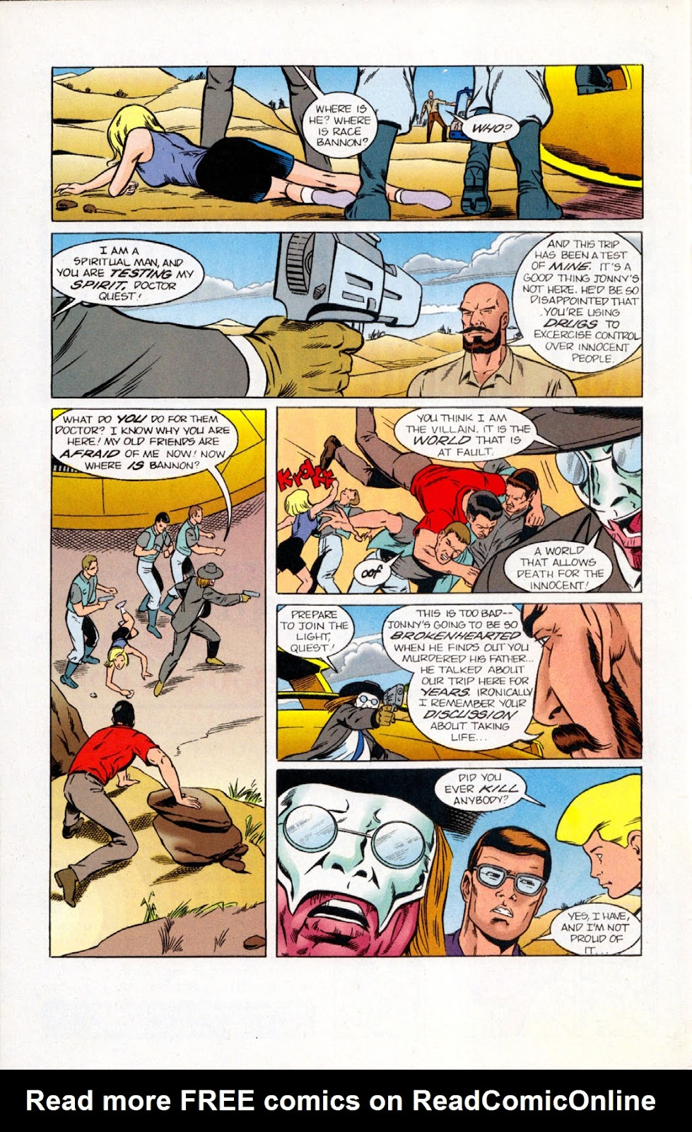 Read online The Real Adventures of Jonny Quest comic -  Issue #10 - 30