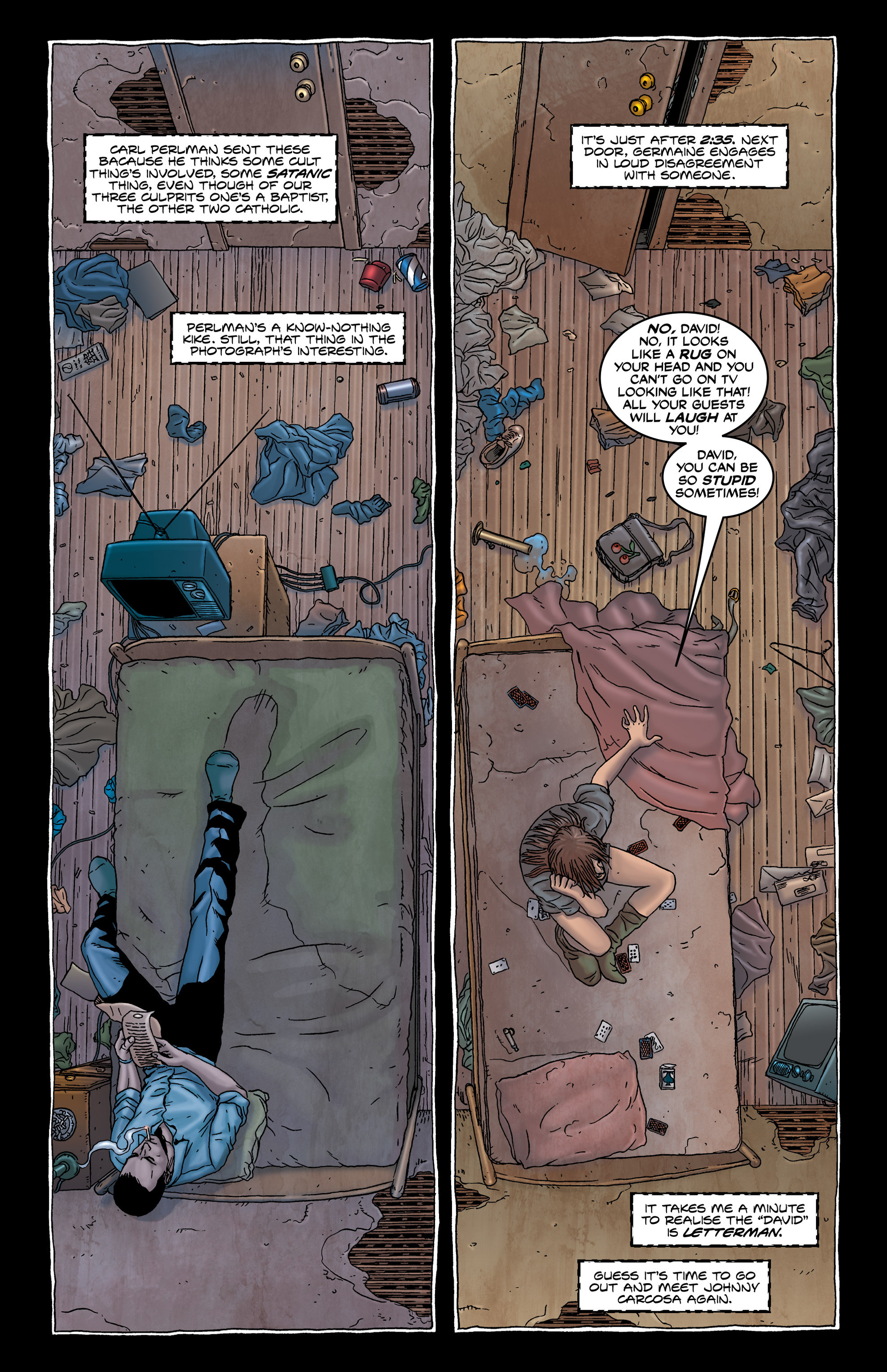 Read online Alan Moore's The Courtyard comic -  Issue # TPB - 31