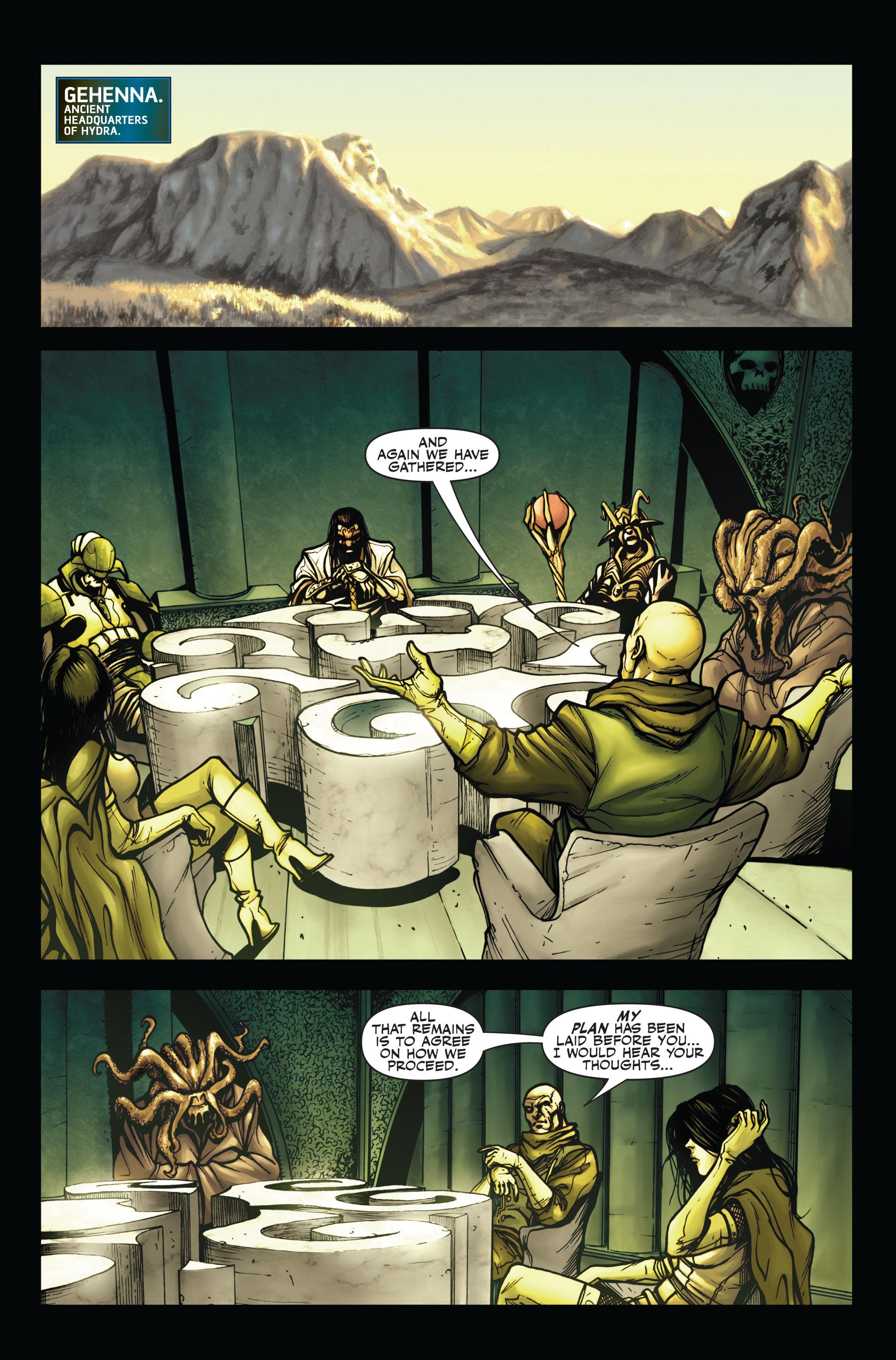 Read online Secret Warriors comic -  Issue #4 - 19