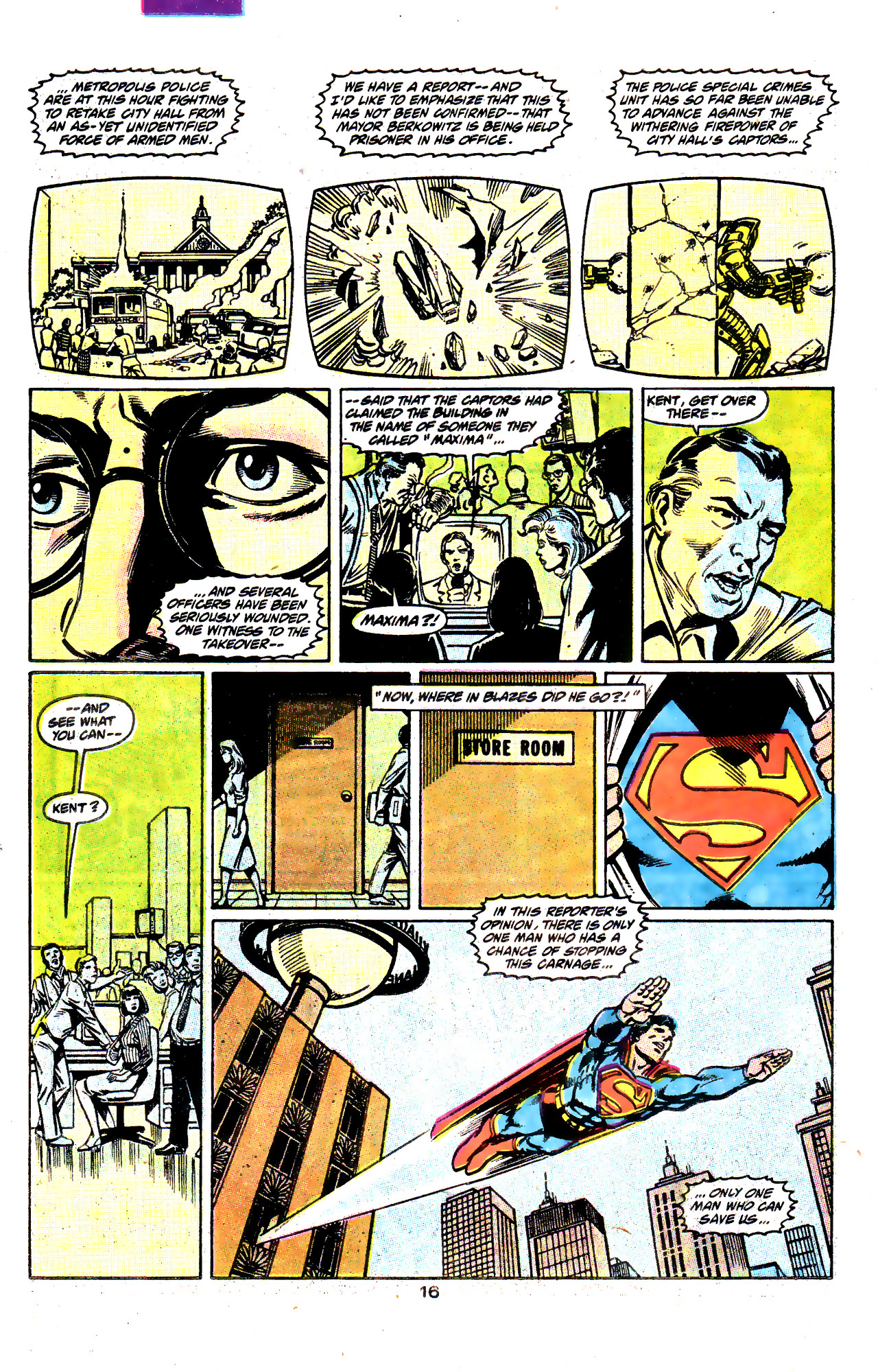 Read online Action Comics (1938) comic -  Issue #645 - 17
