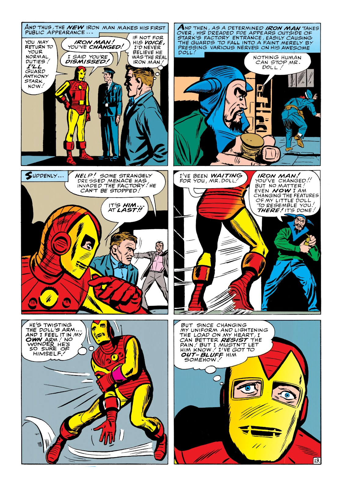Read online Marvel Masterworks: The Invincible Iron Man comic -  Issue # TPB 1 (Part 2) - 52