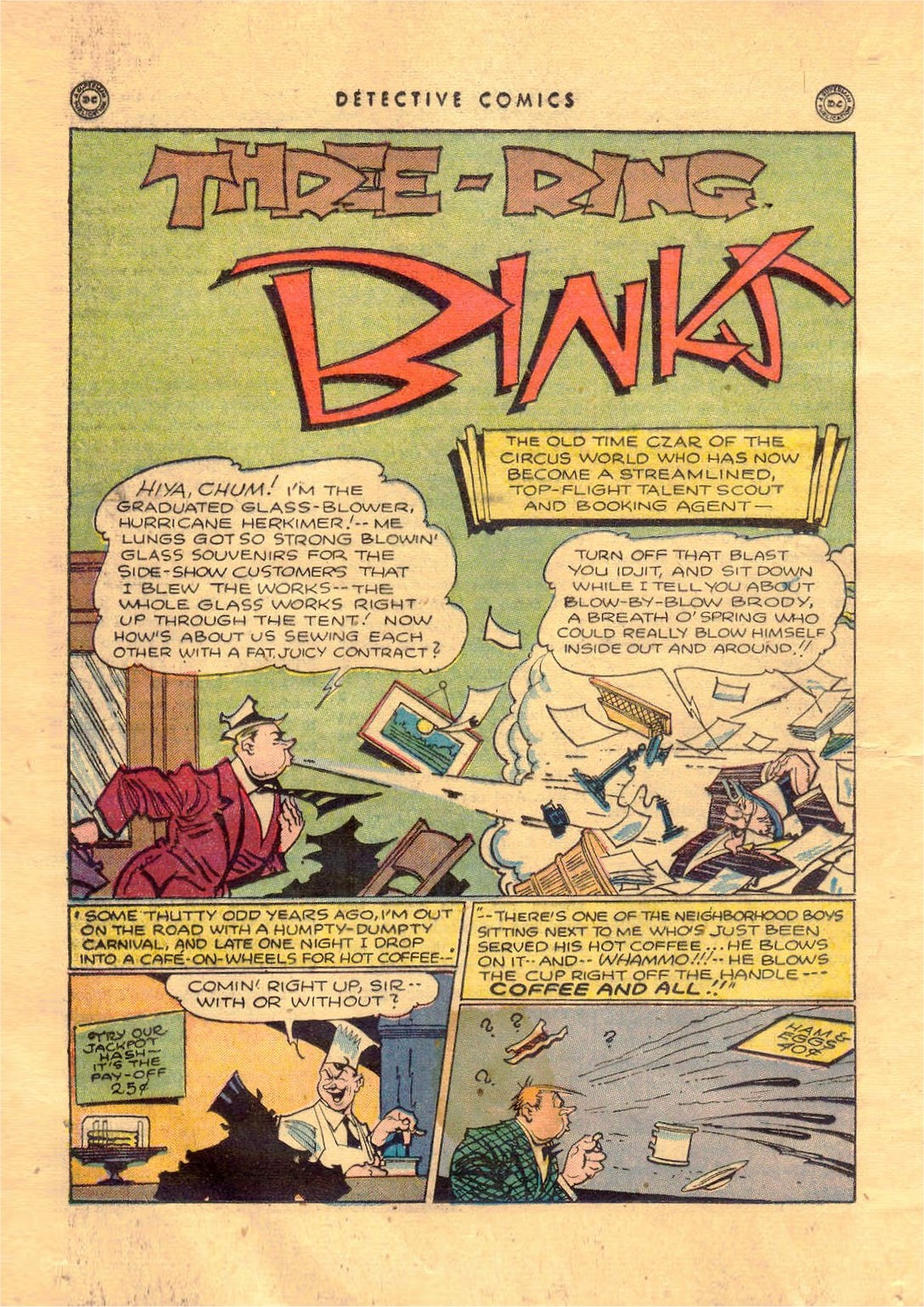 Read online Detective Comics (1937) comic -  Issue #92 - 34