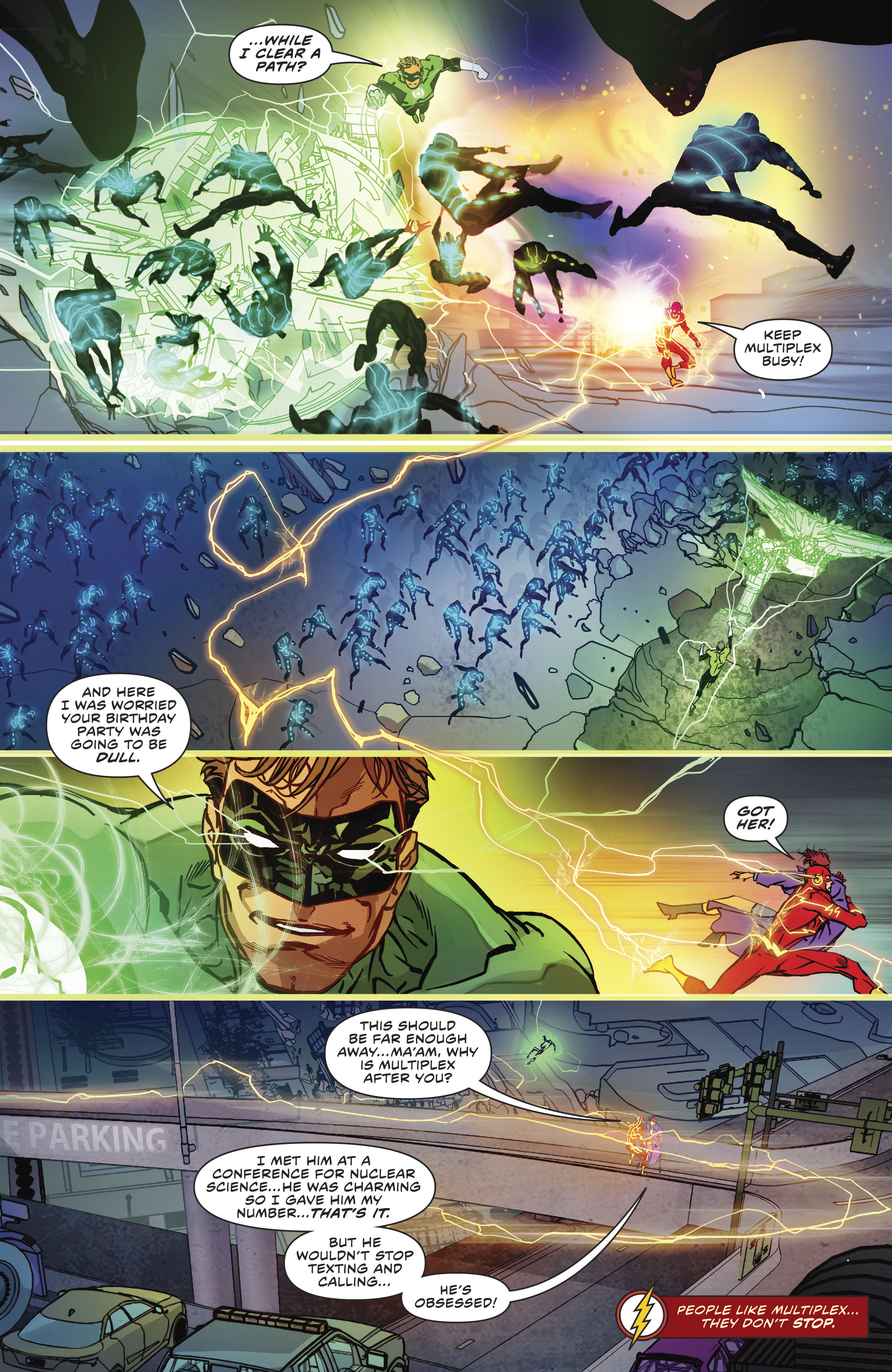 Read online The Flash (2016) comic -  Issue #23 - 19