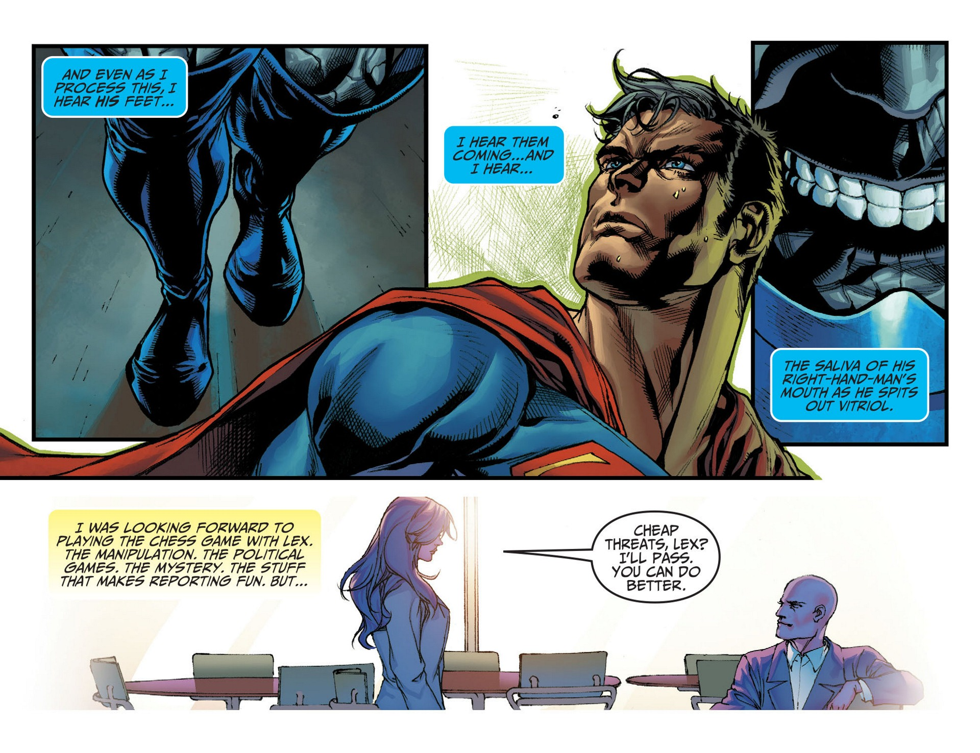 Read online Adventures of Superman [I] comic -  Issue #9 - 6