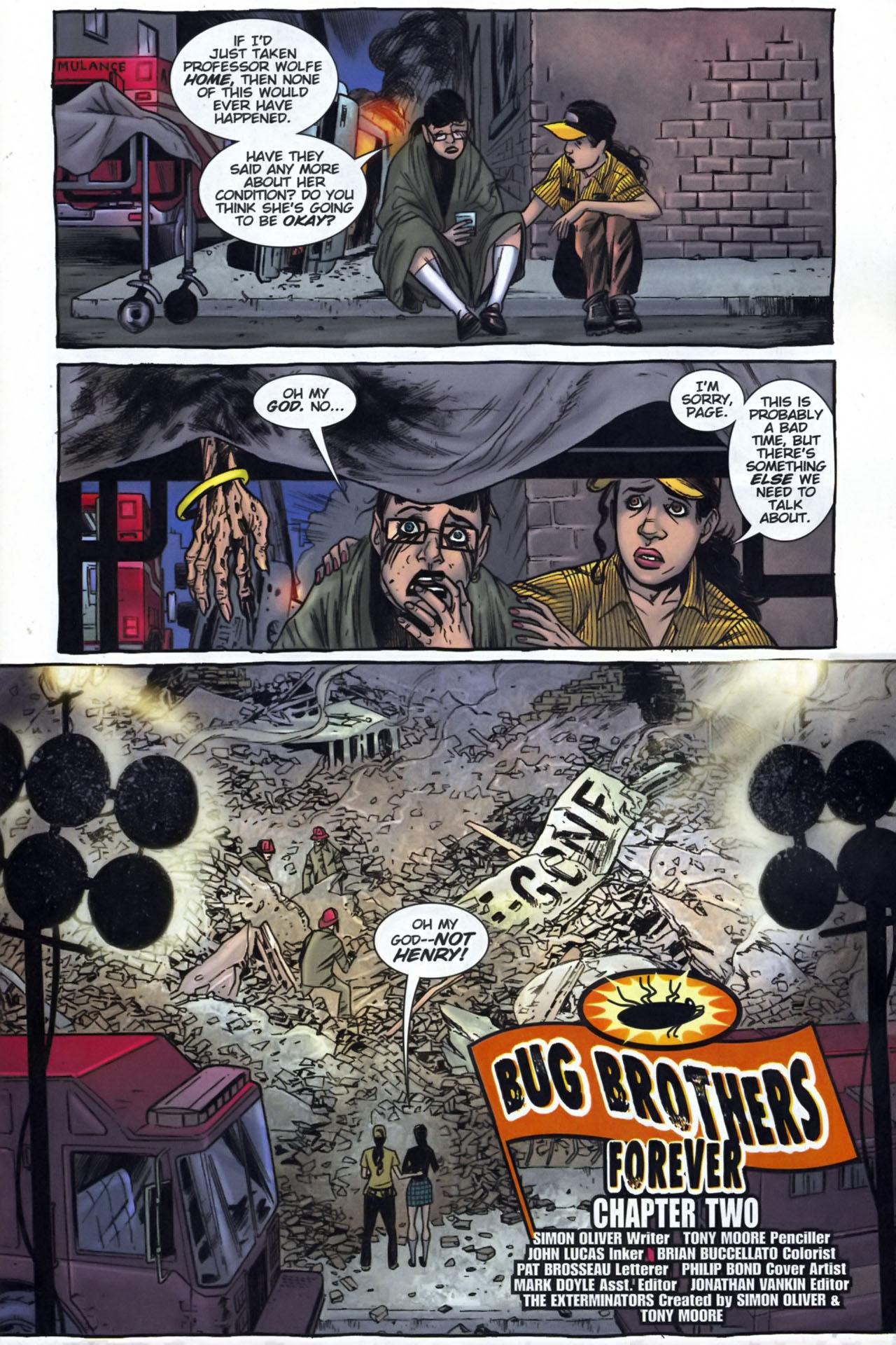 Read online The Exterminators comic -  Issue #29 - 2