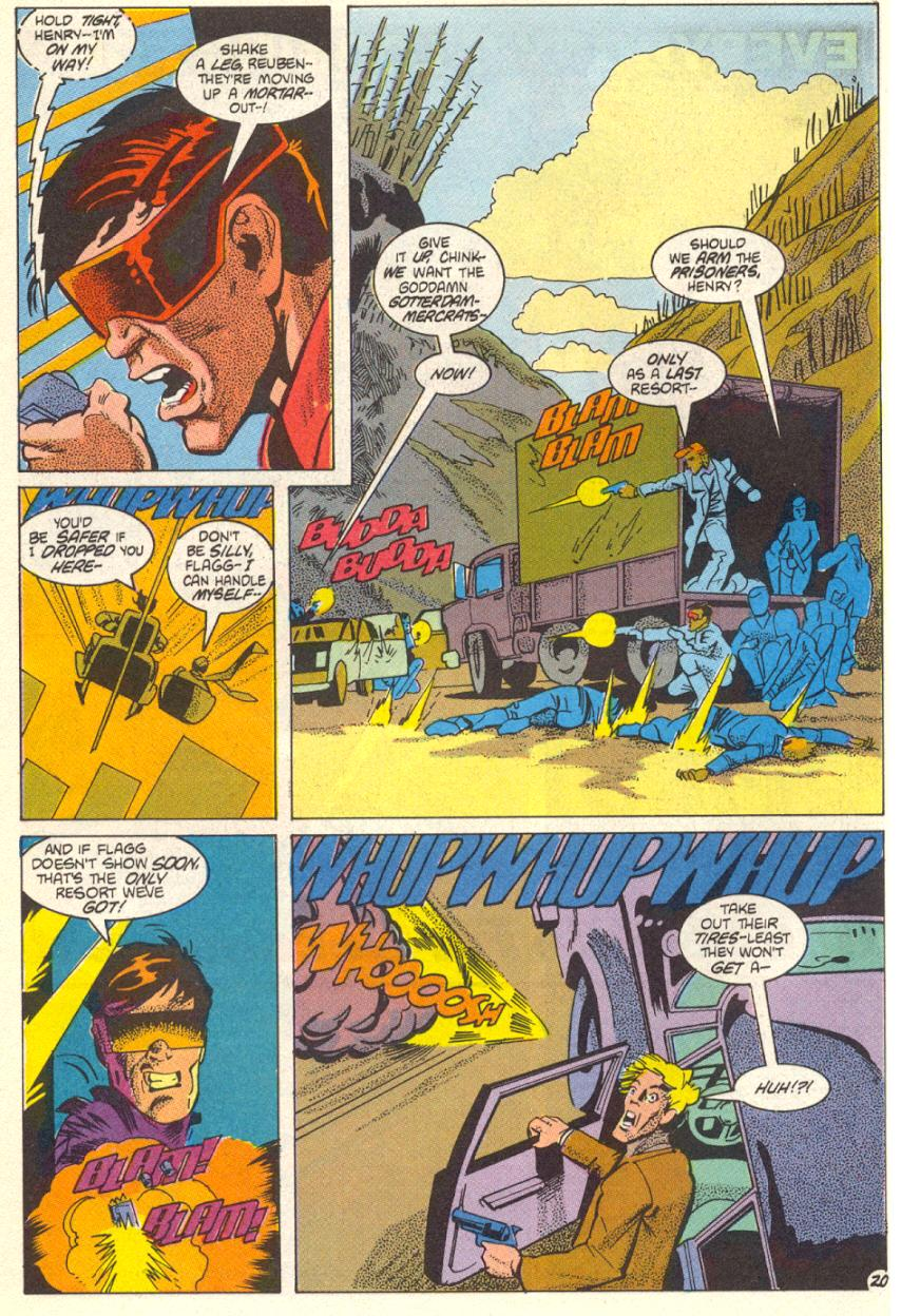 Read online American Flagg! comic -  Issue #14 - 21