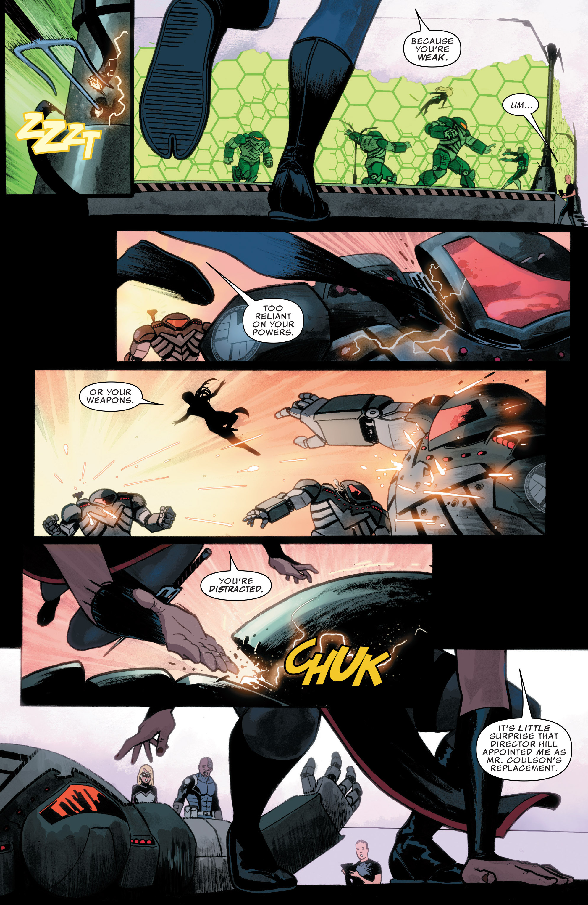 Read online Agents of S.H.I.E.L.D. comic -  Issue #8 - 18