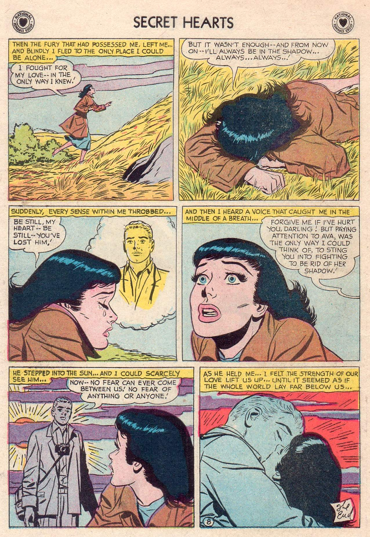 Read online Secret Hearts comic -  Issue #46 - 34