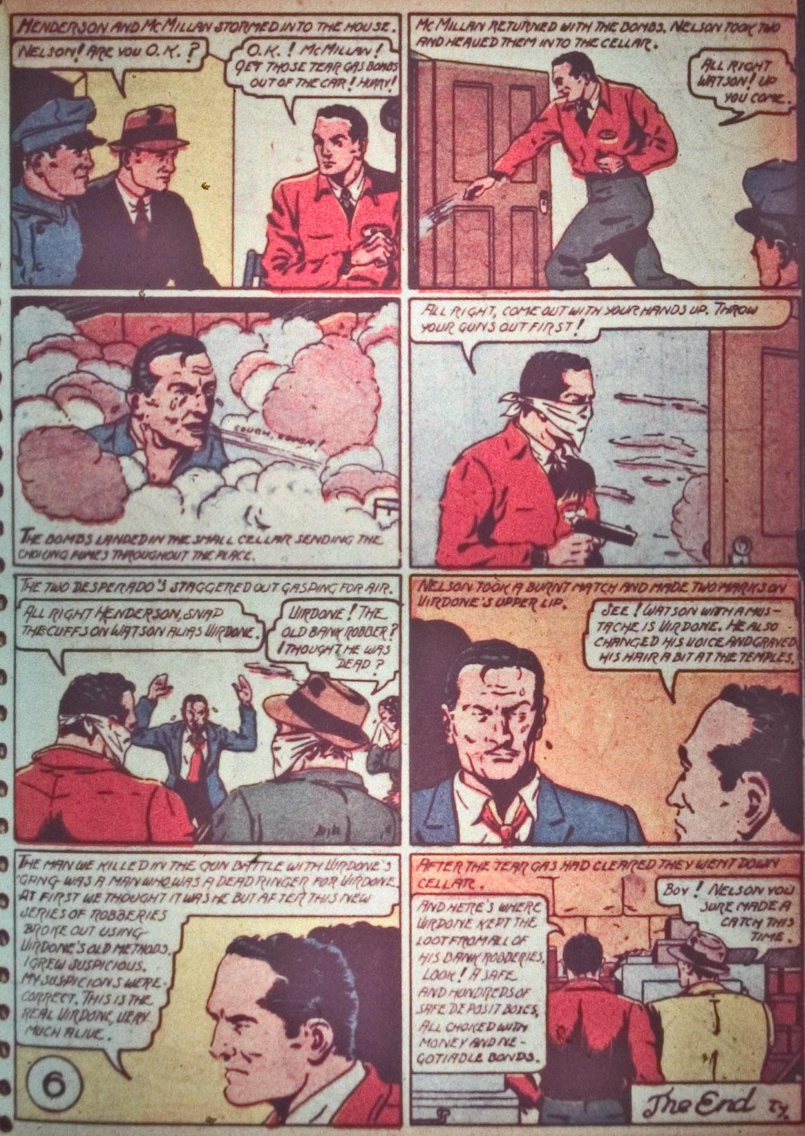 Read online Detective Comics (1937) comic -  Issue #26 - 27