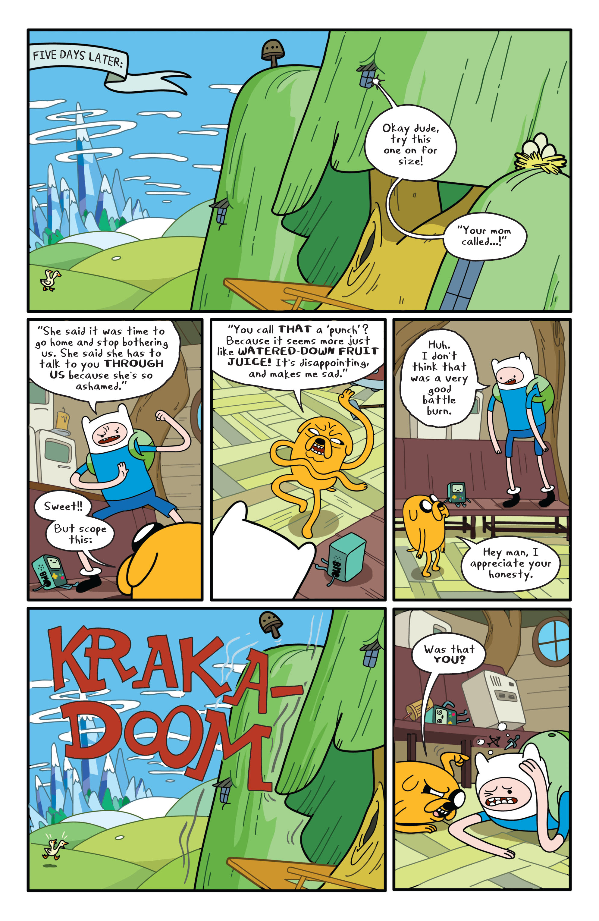 Read online Adventure Time comic -  Issue #1 - 11