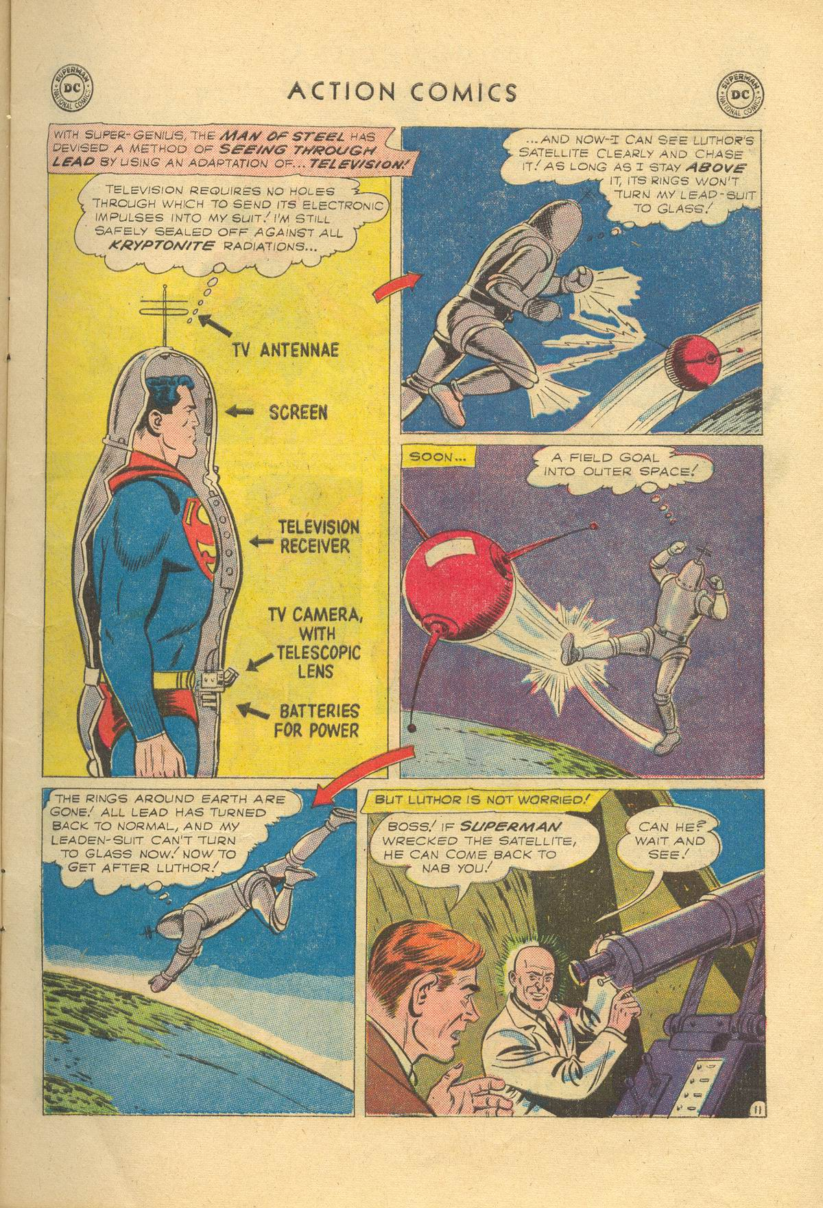 Read online Action Comics (1938) comic -  Issue #249 - 13